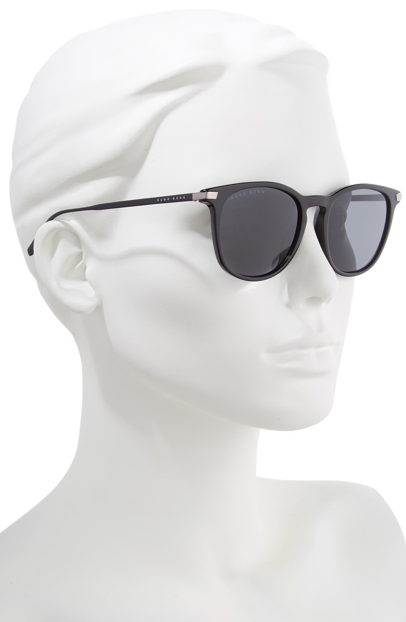 53mm Sunglasses,                             Alternate thumbnail 2, color,                             BLACK