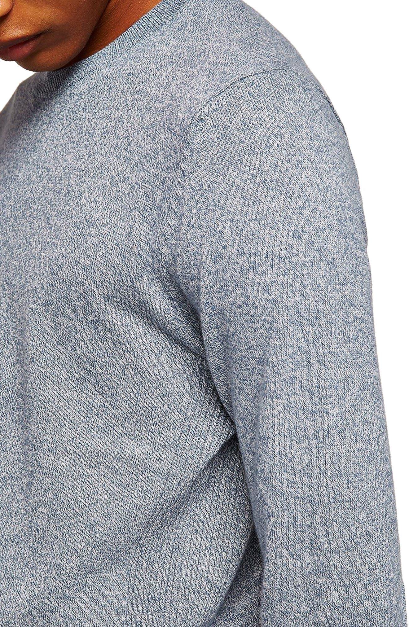 Side Rib Cotton Sweater,                             Alternate thumbnail 11, color,