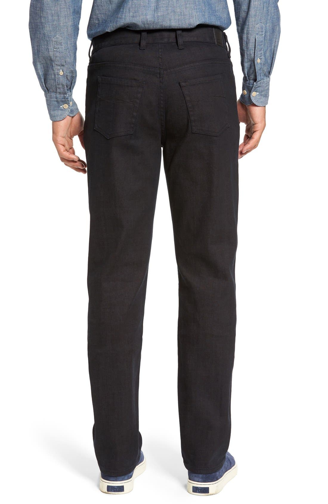 Greenwood Relaxed Fit Jeans,                             Alternate thumbnail 3, color,