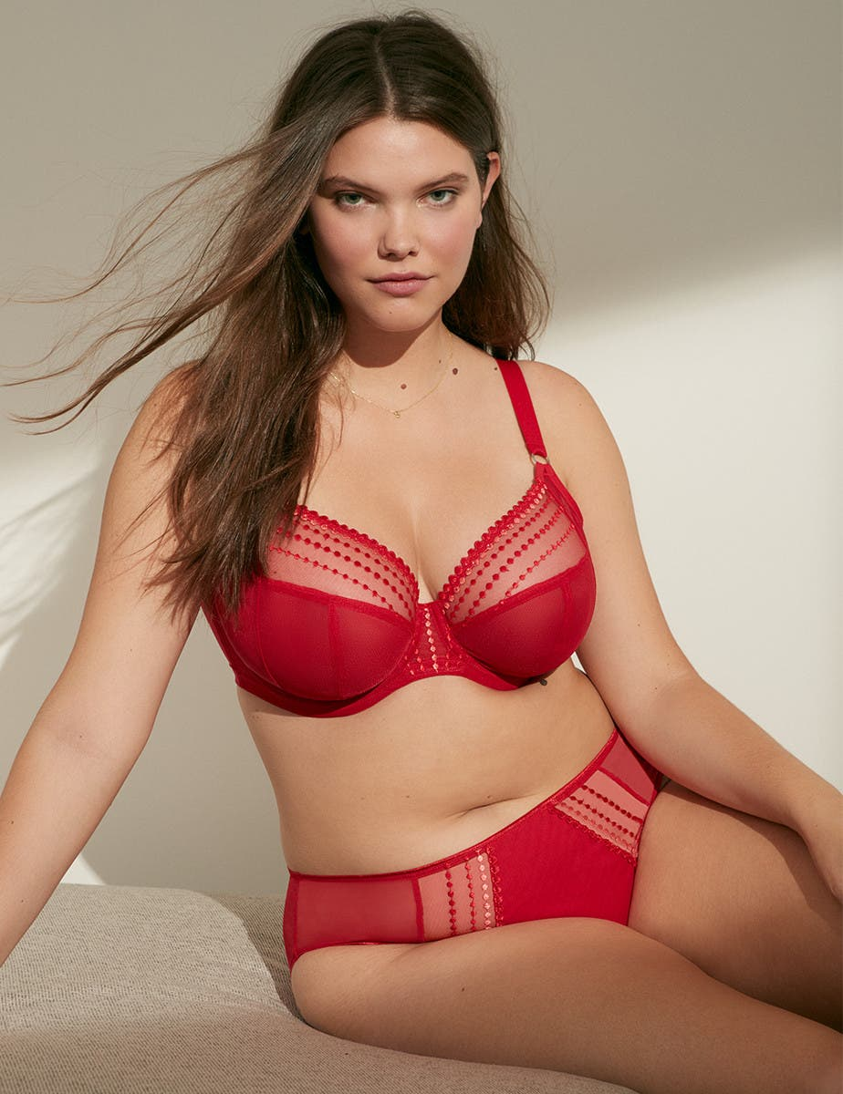 Romantic plus-size lingerie picks.