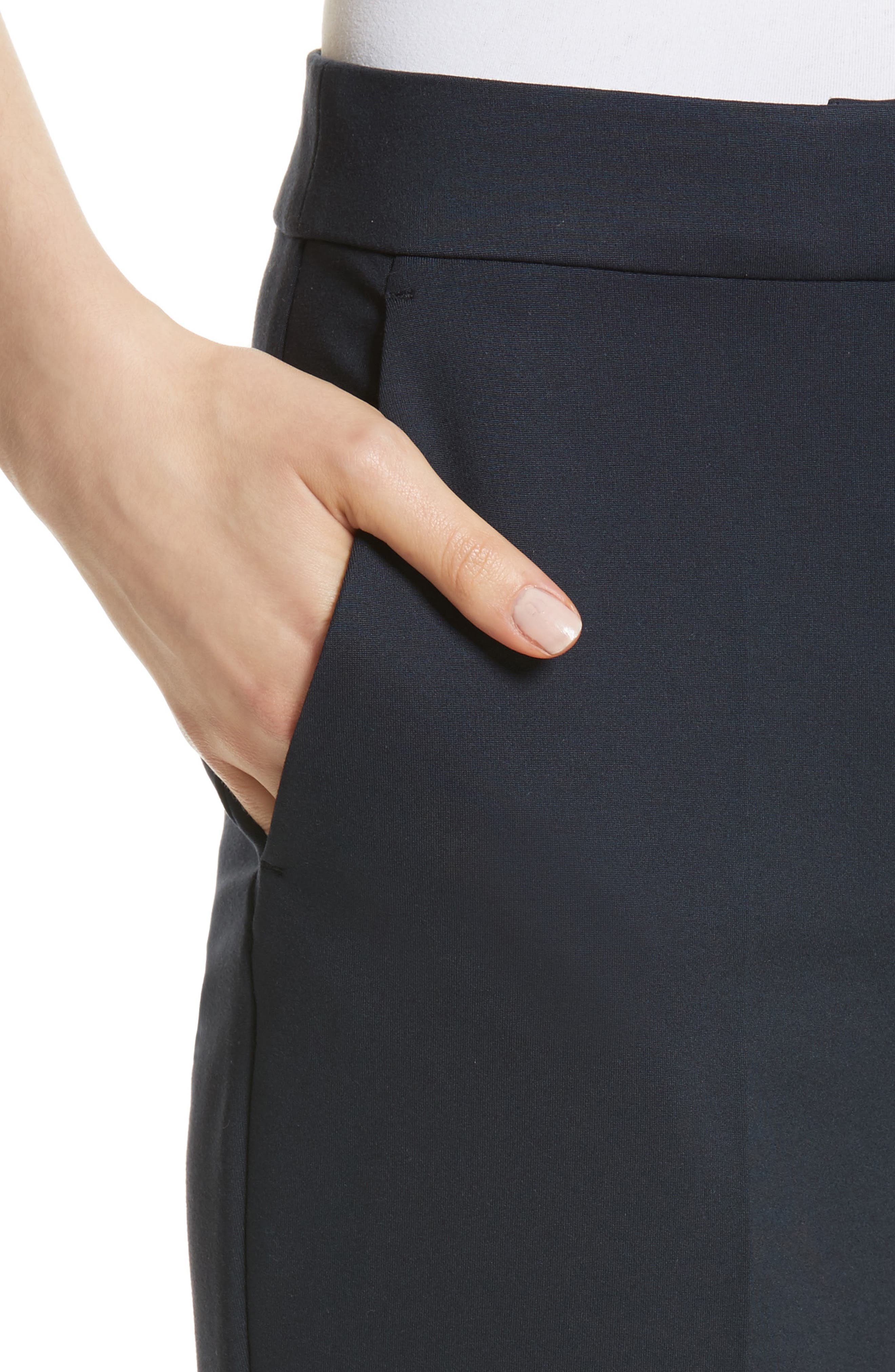 Pegno Jersey Crop Pants,                             Alternate thumbnail 4, color,                             411