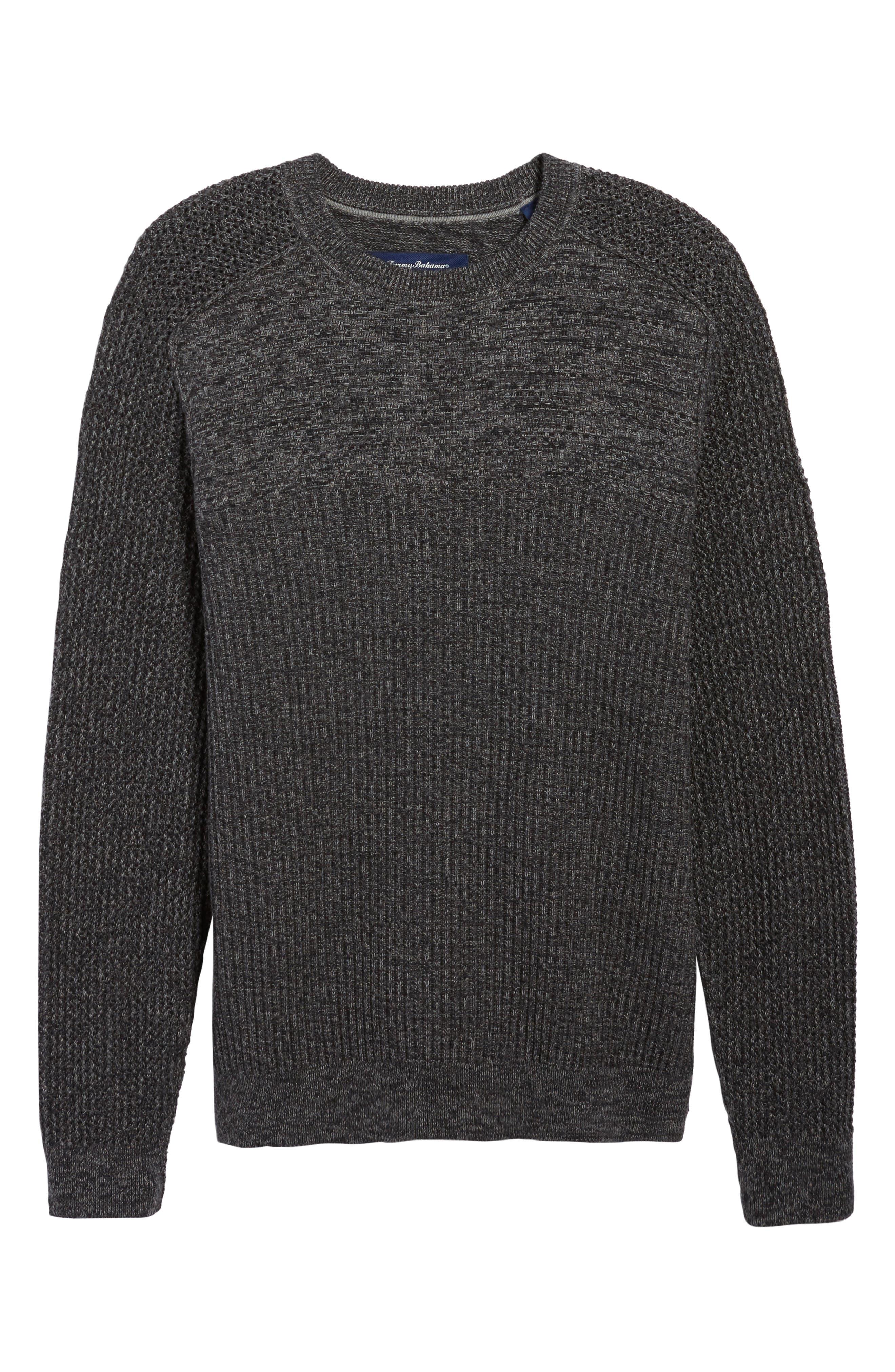 Medina Marl Cotton Sweater,                             Alternate thumbnail 12, color,