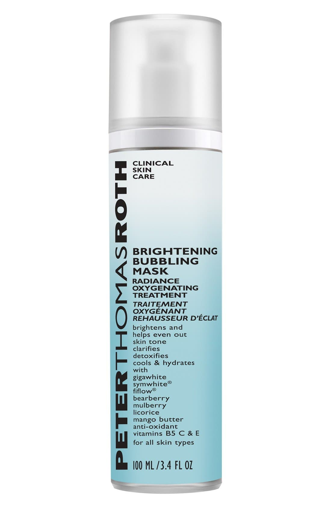Brightening Bubbling Mask,                         Main,                         color,