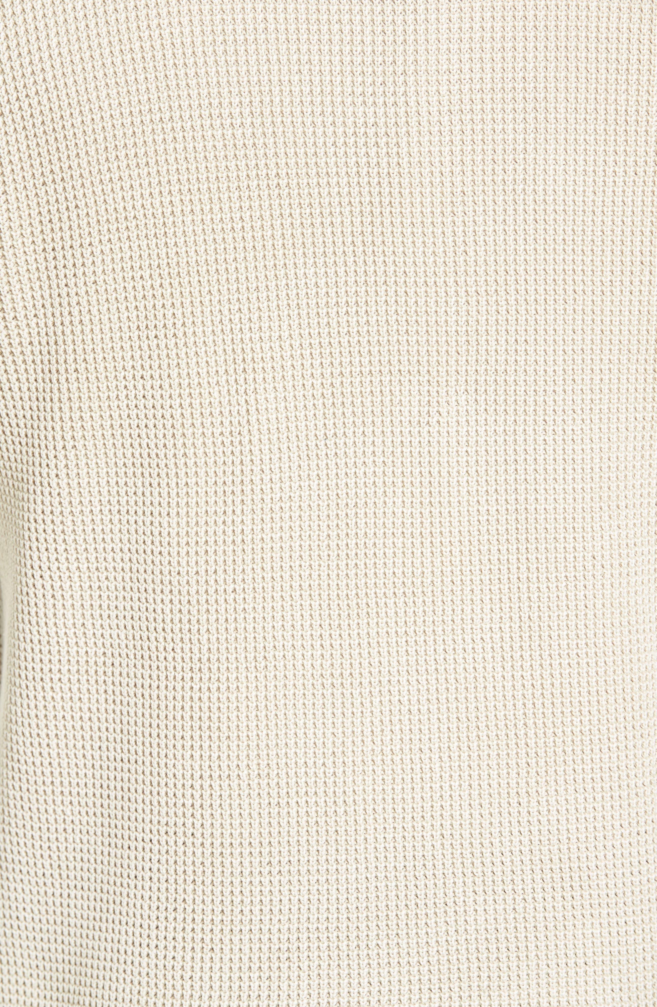 'Coastal Shores' Quarter Zip Sweater,                             Alternate thumbnail 41, color,