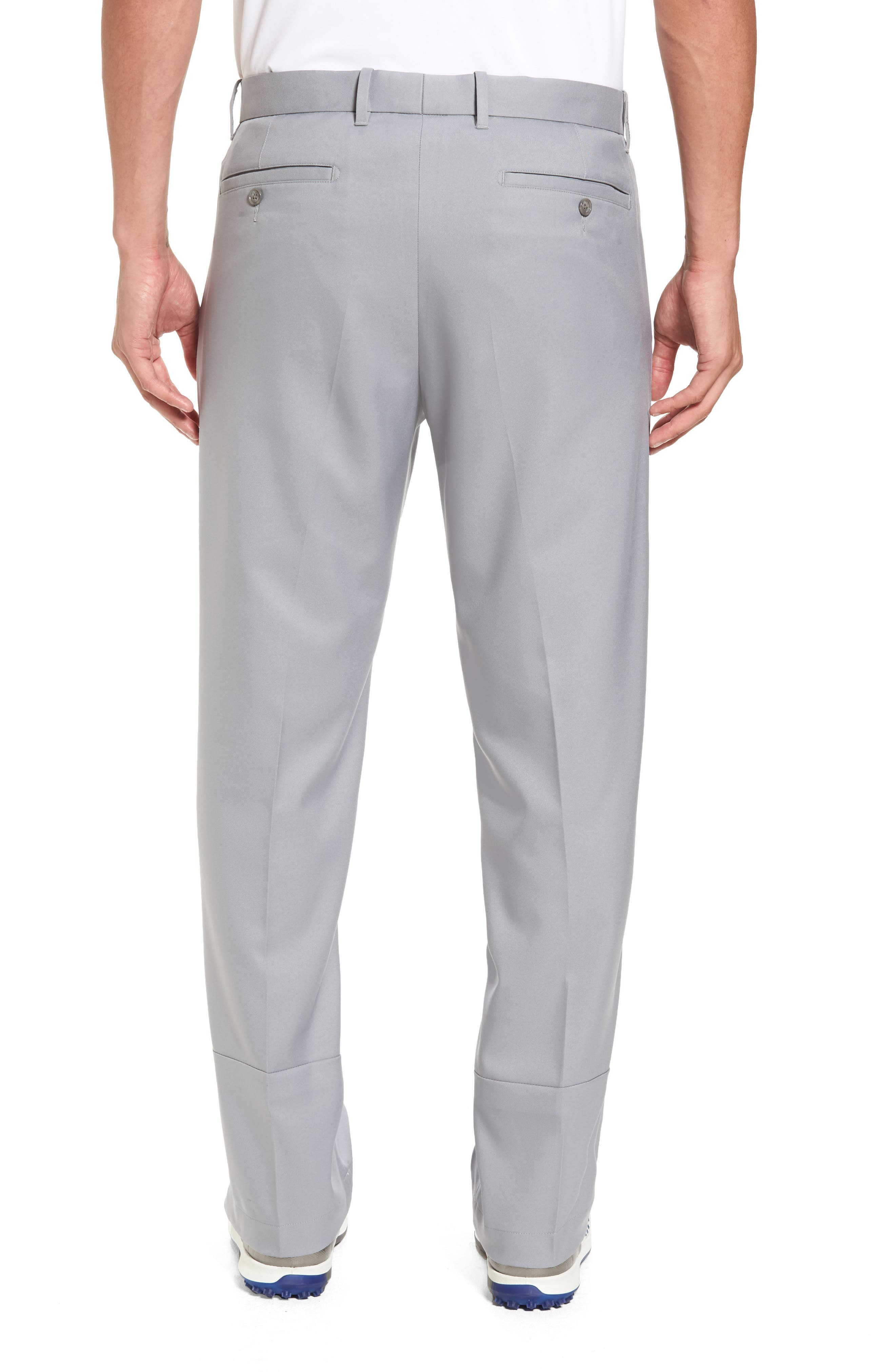 'Tech' Flat Front Wrinkle Free Golf Pants,                             Alternate thumbnail 2, color,                             052