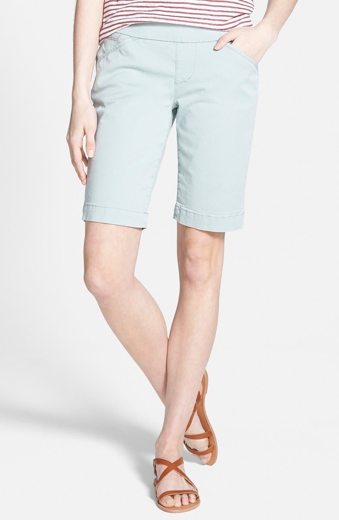 'Ainsley' Slim Bermuda Shorts,                             Main thumbnail 9, color,