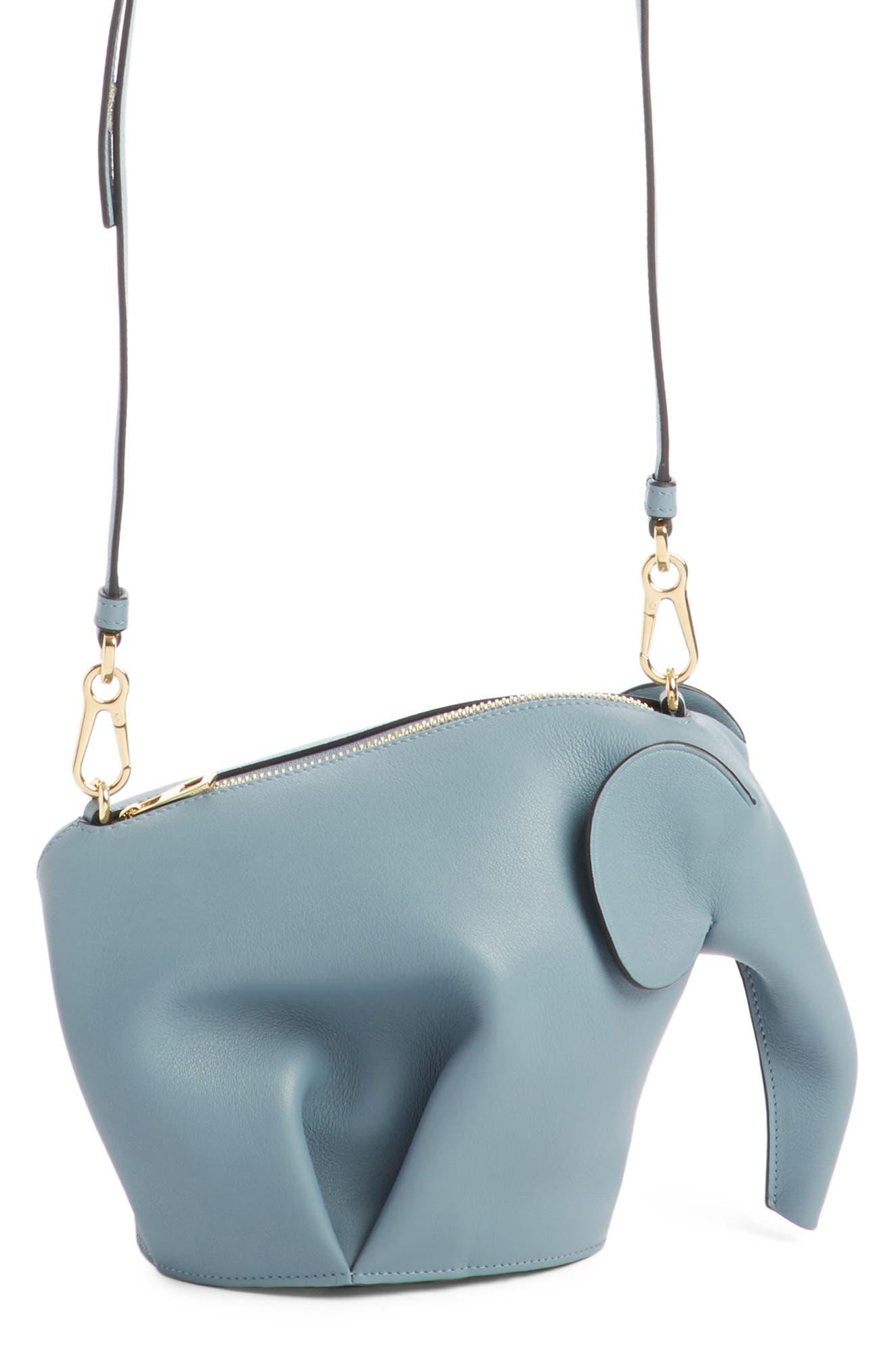 'Mini Elephant' Crossbody Bag,                             Alternate thumbnail 37, color,