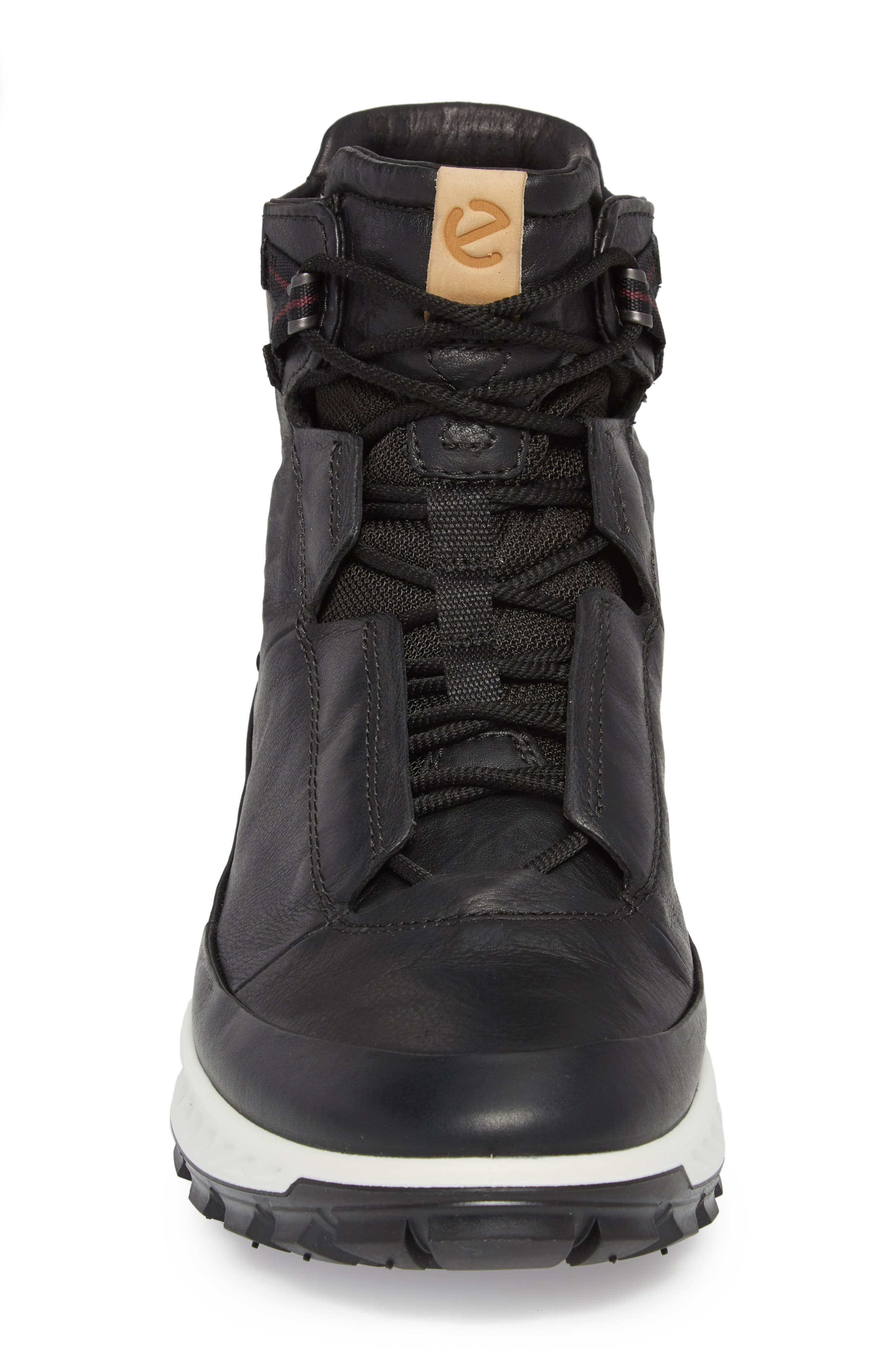 Limited Edition Exostrike Dyneema Sneaker Boot,                             Alternate thumbnail 4, color,                             BLACK LEATHER