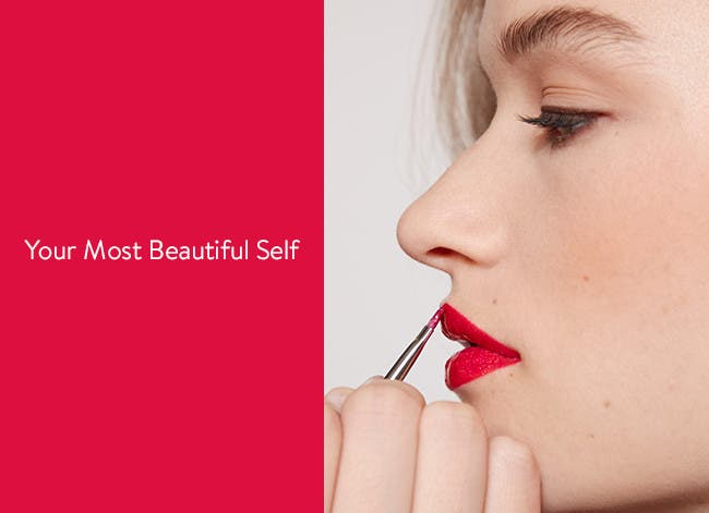 Your most beautiful self: prom beauty services.