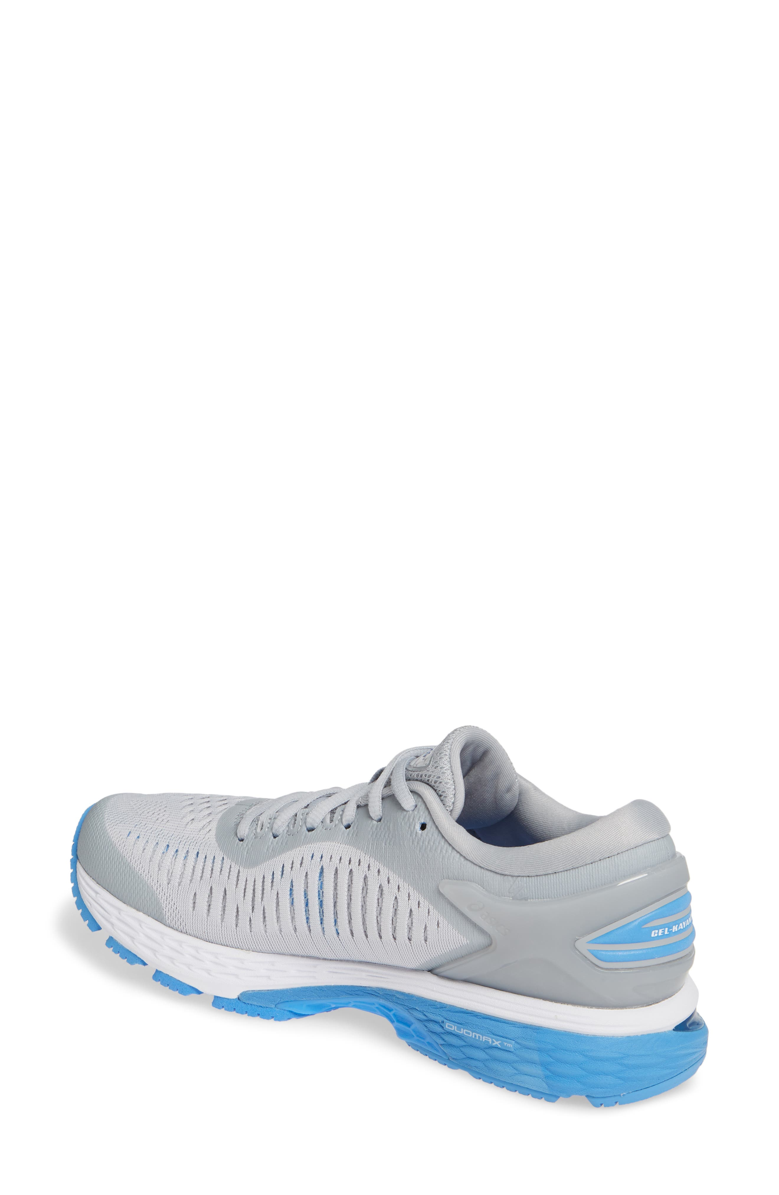 GEL-Kayano<sup>®</sup> 25 Running Shoe,                             Alternate thumbnail 2, color,                             MID GREY/ BLUE