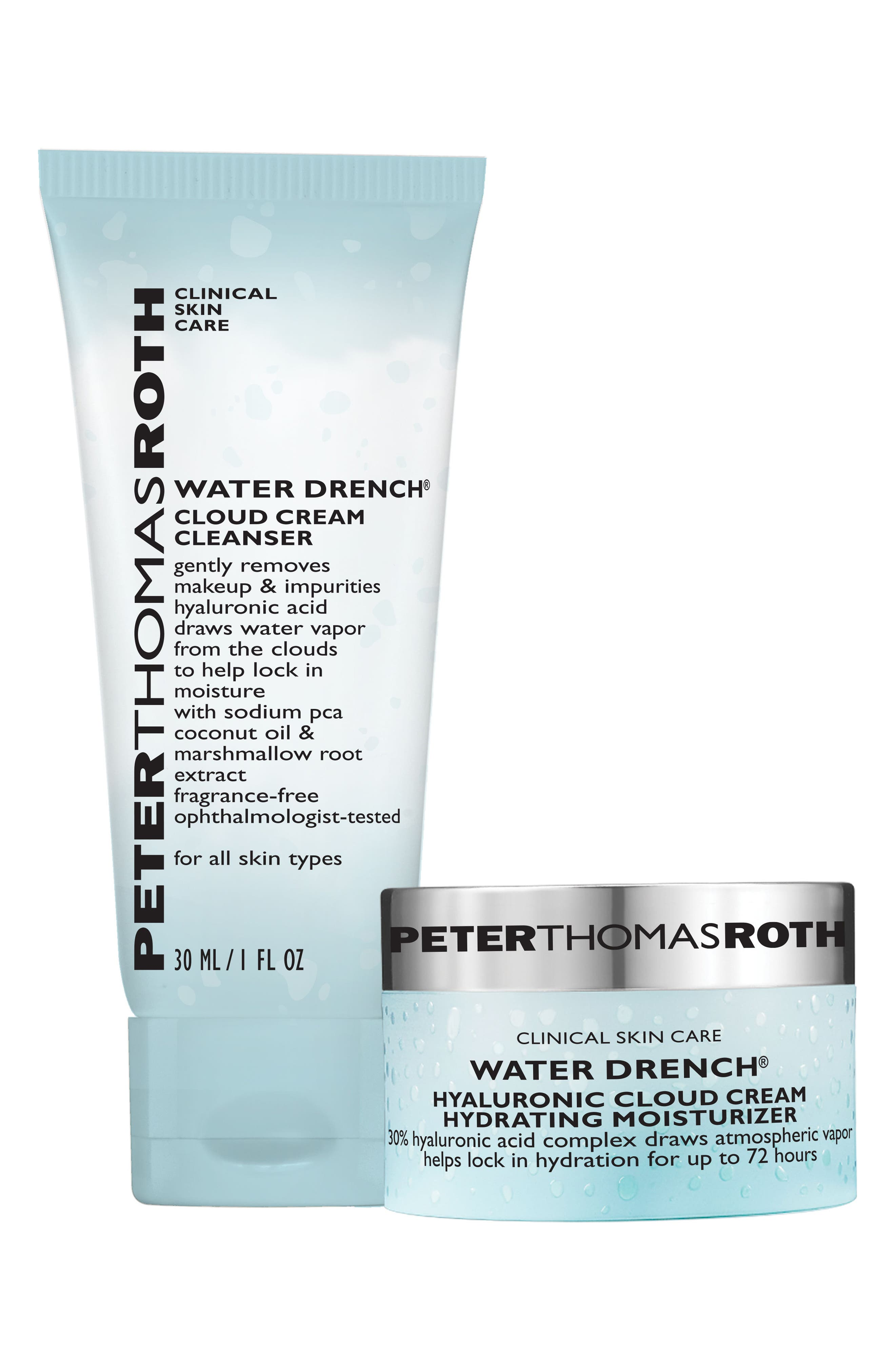 Cleanse Drench Repeat Set,                             Main thumbnail 1, color,
