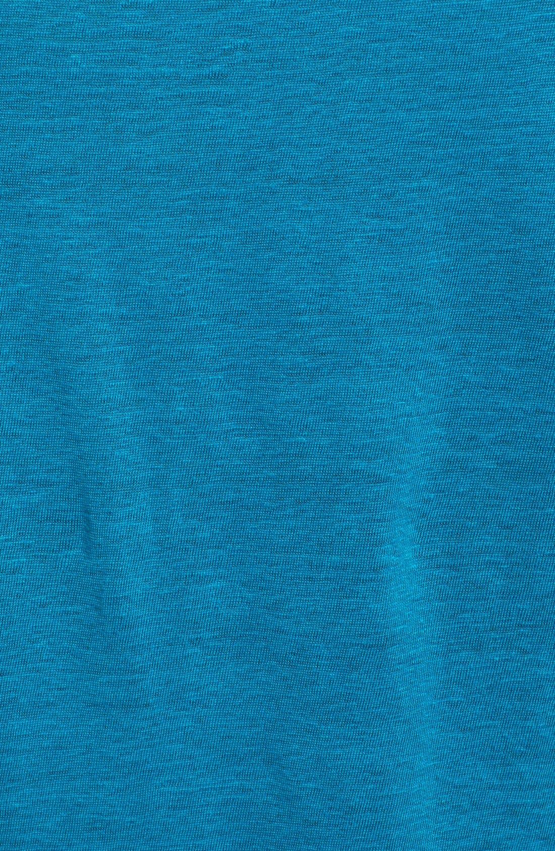Bateau Neck Organic Linen Tunic,                             Alternate thumbnail 41, color,