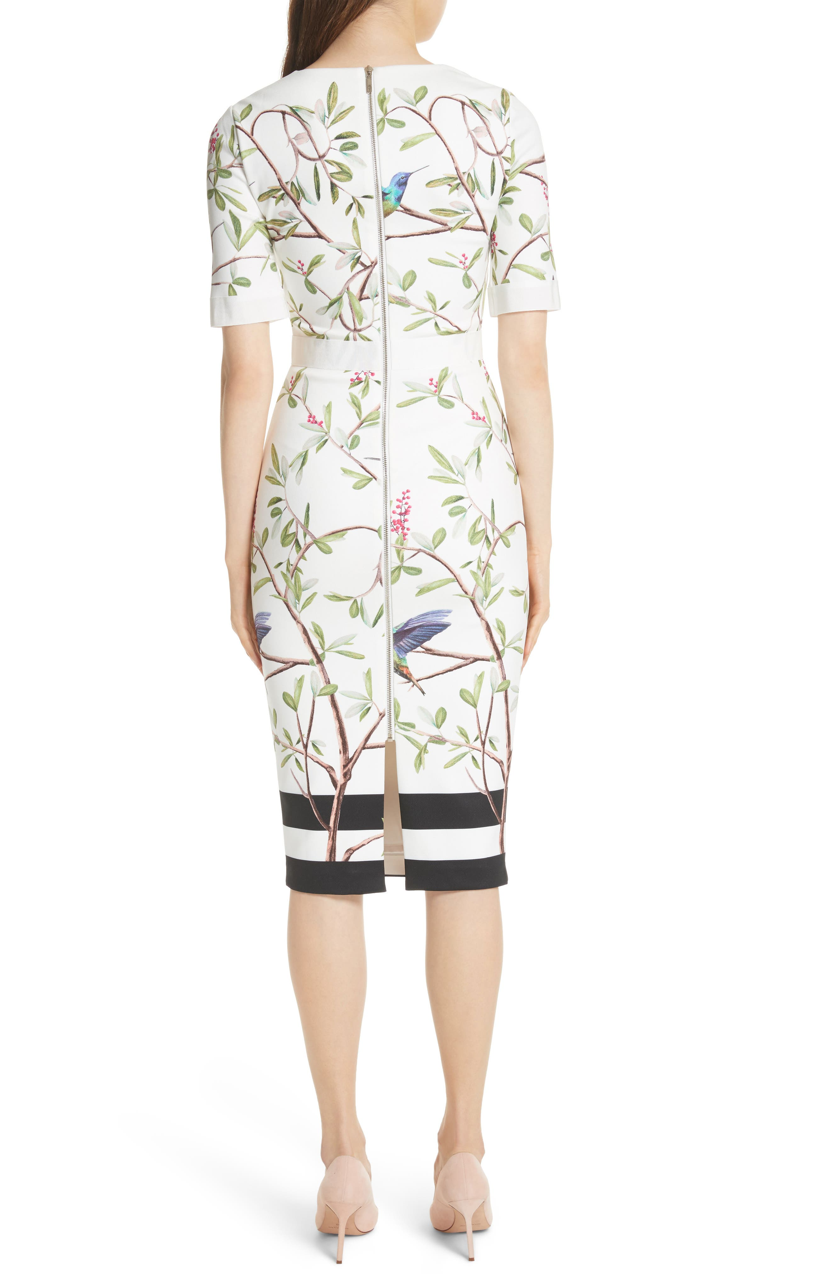 Highgrove Body-Con Dress,                             Alternate thumbnail 2, color,                             110