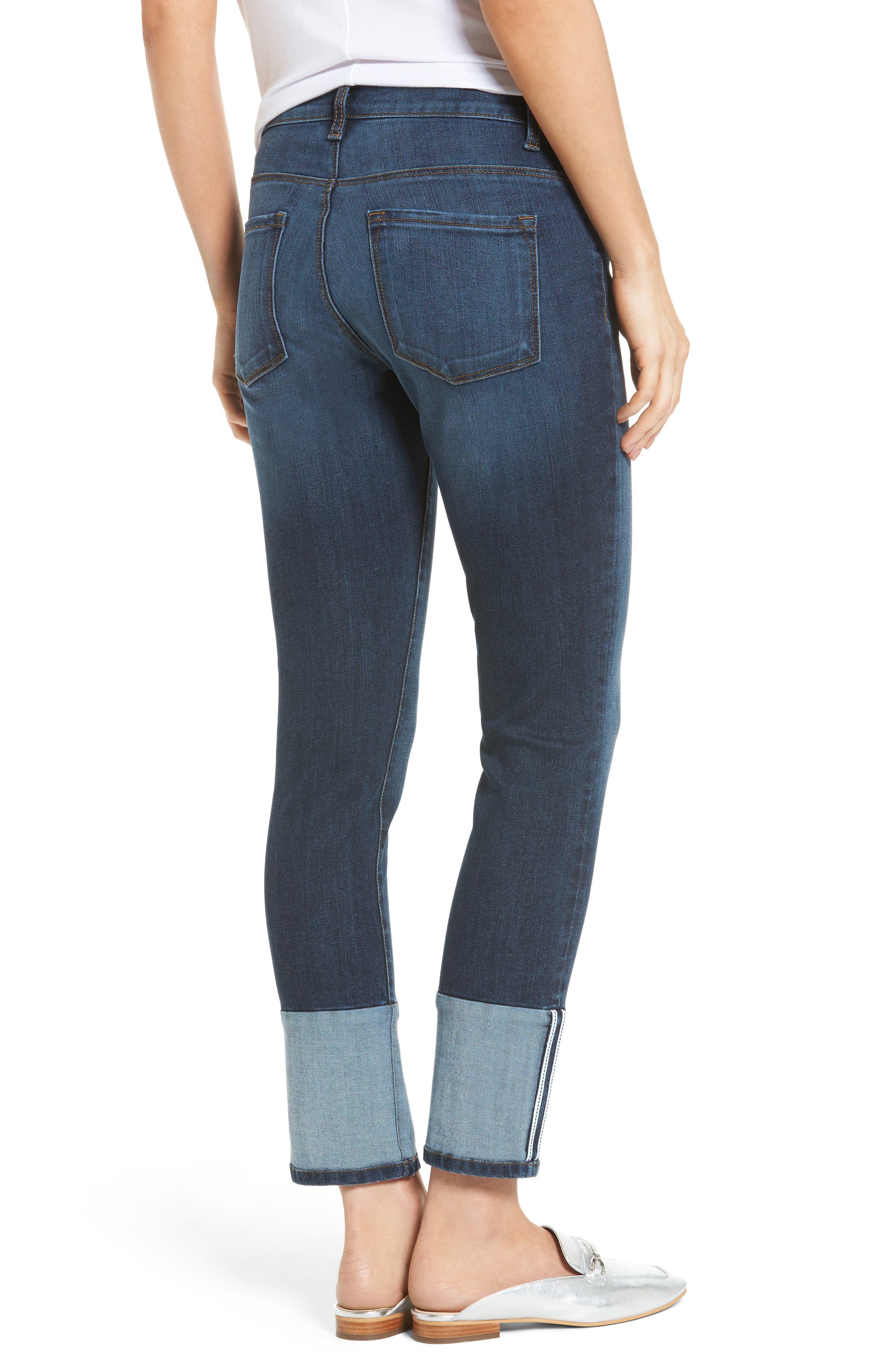 Reese Straight Leg Jeans,                             Alternate thumbnail 2, color,