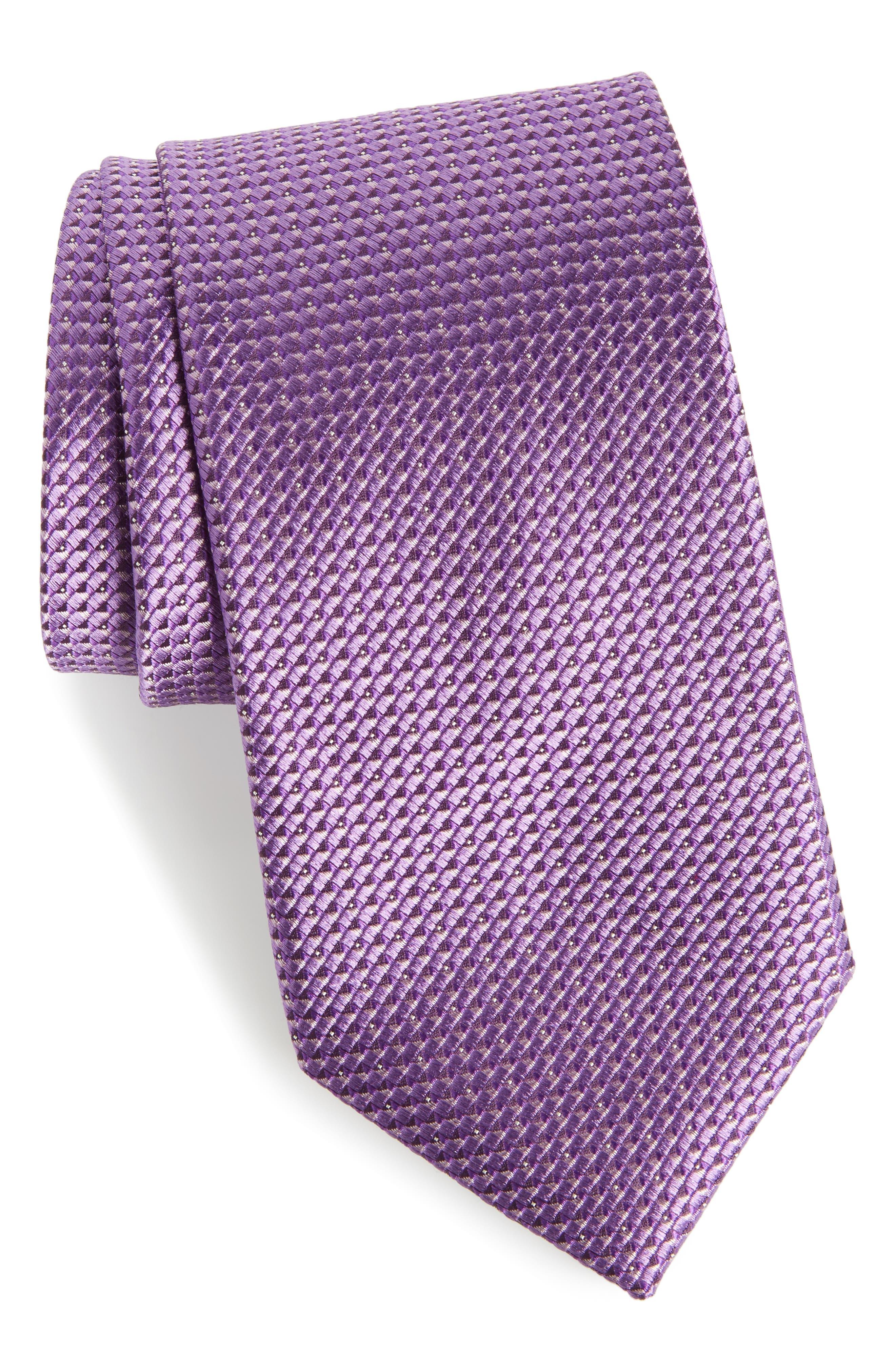 Hader Micro Silk Tie,                         Main,                         color, 500