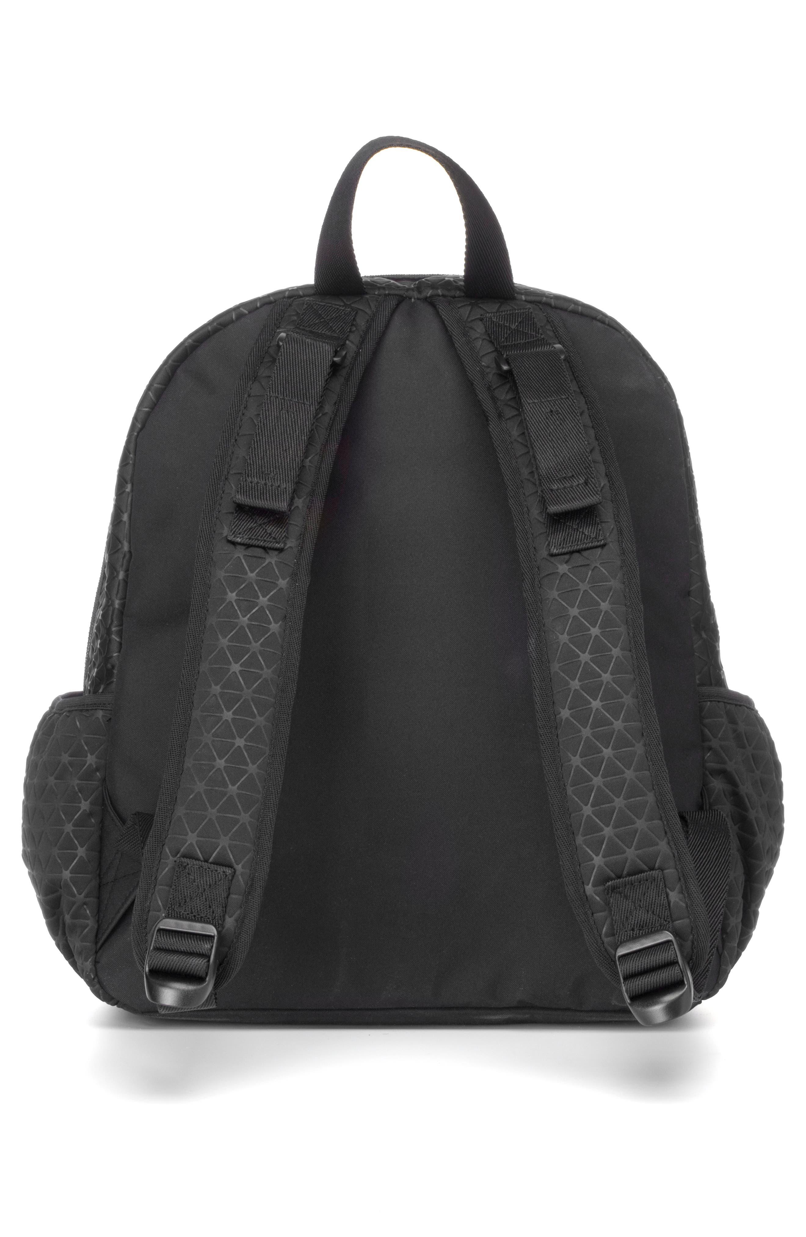 Luna Ultra Lite Diaper Backpack,                             Alternate thumbnail 2, color,                             BLACK