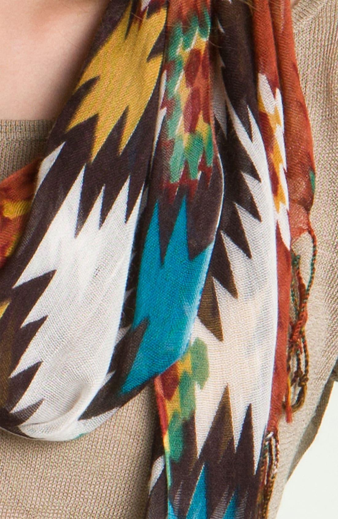 Couture 'Southwest' Scarf,                             Alternate thumbnail 3, color,