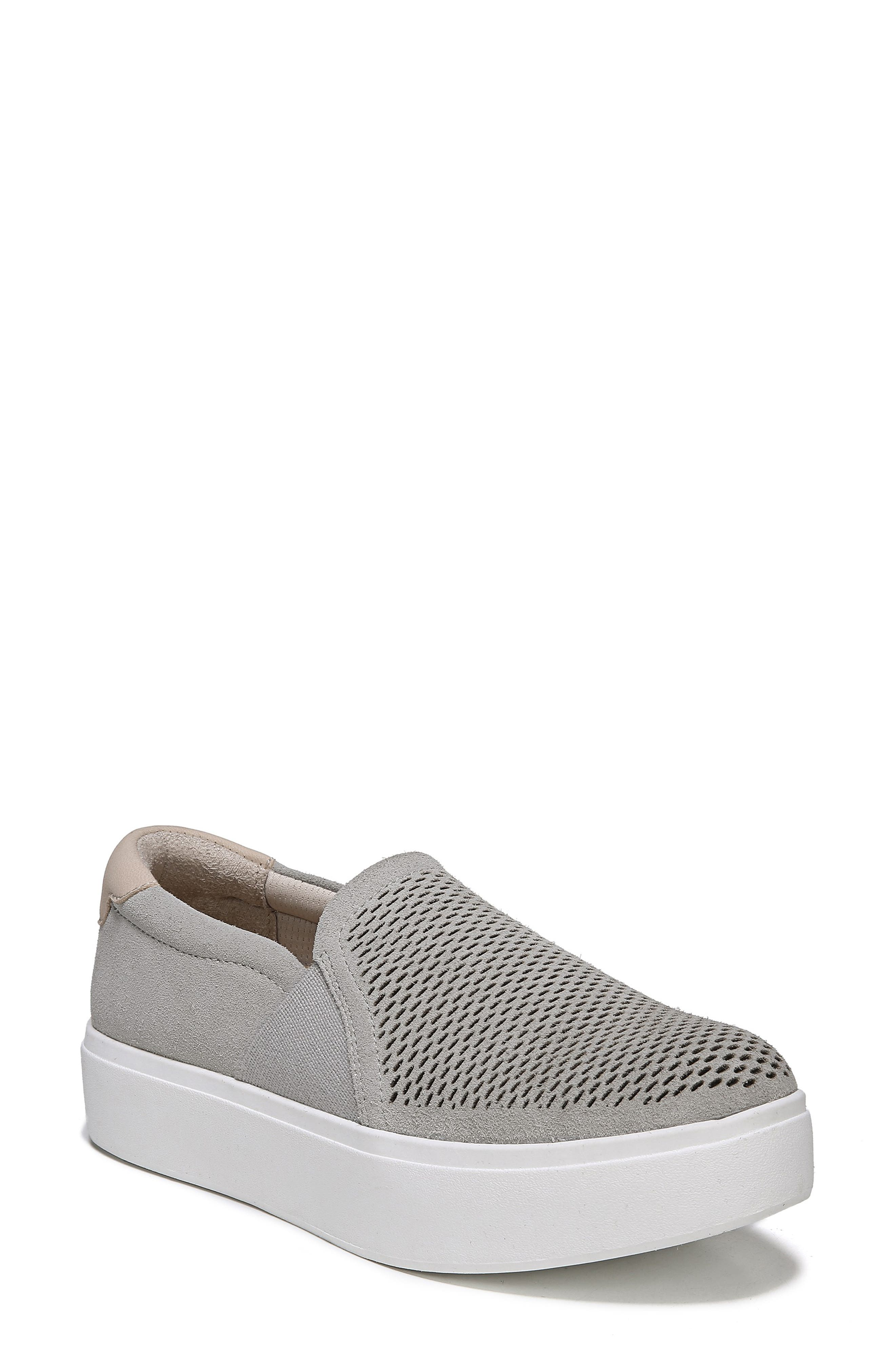 Abbot Lux Sneaker,                         Main,                         color, GREY LEATHER