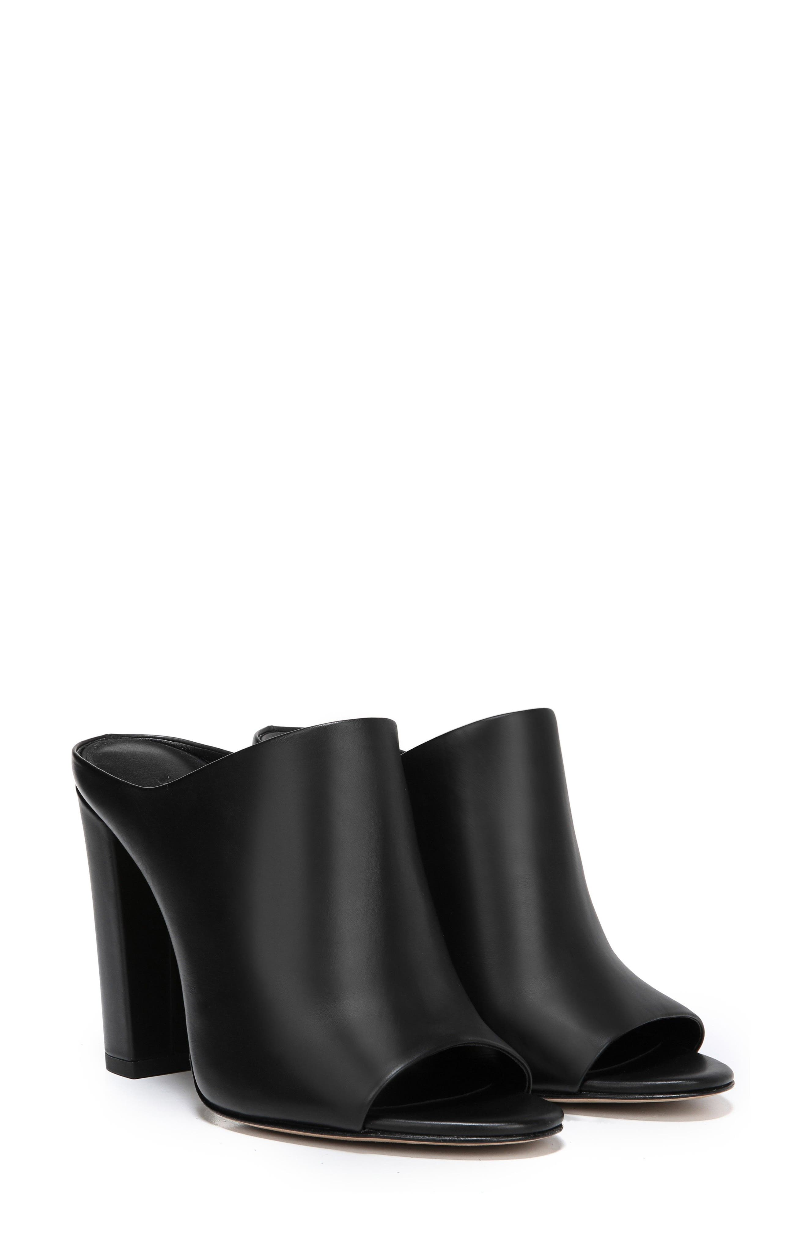 Alora Mule,                             Alternate thumbnail 7, color,                             BLACK
