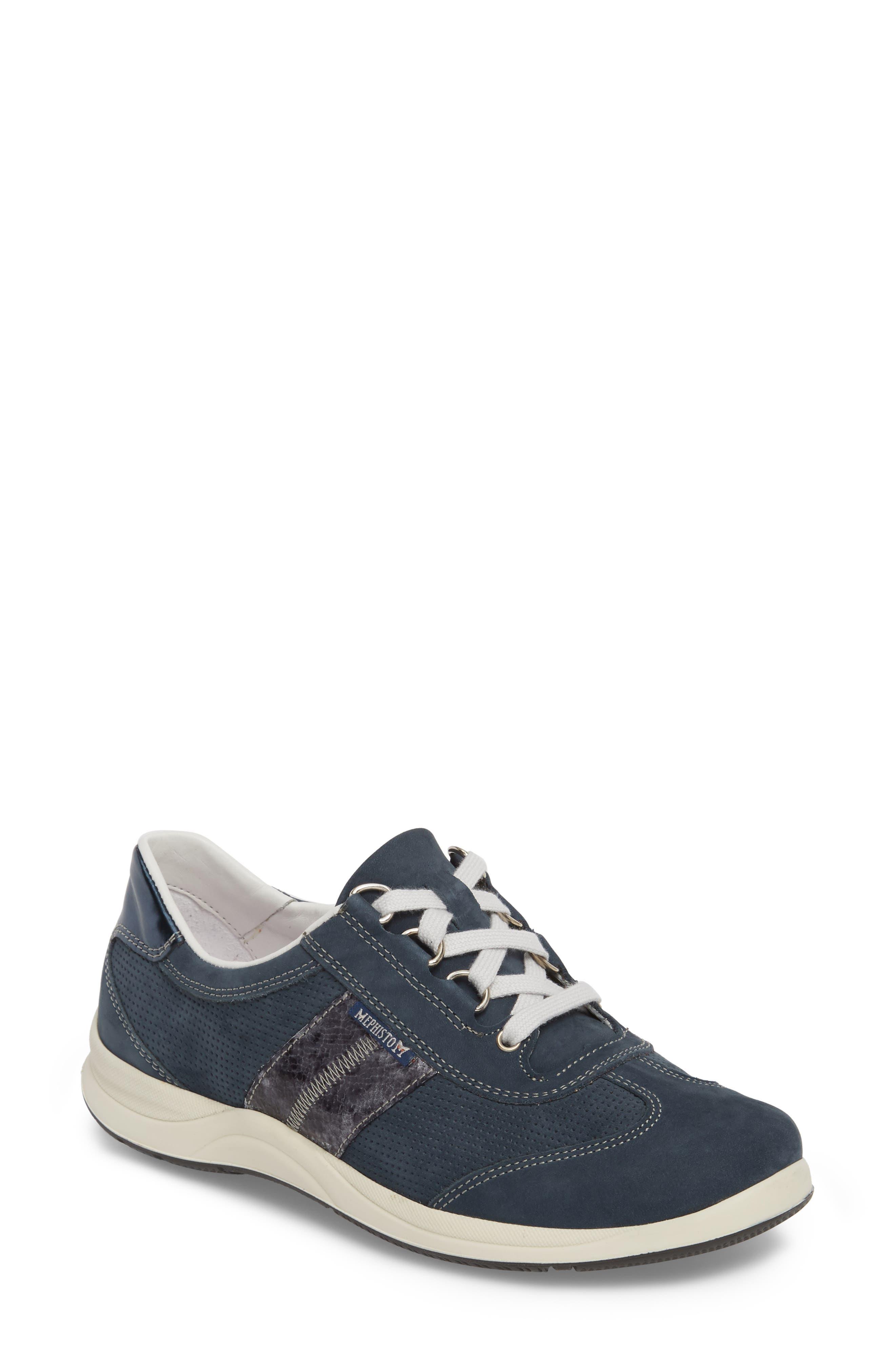 Laser Perforated Walking Shoe,                             Main thumbnail 3, color,