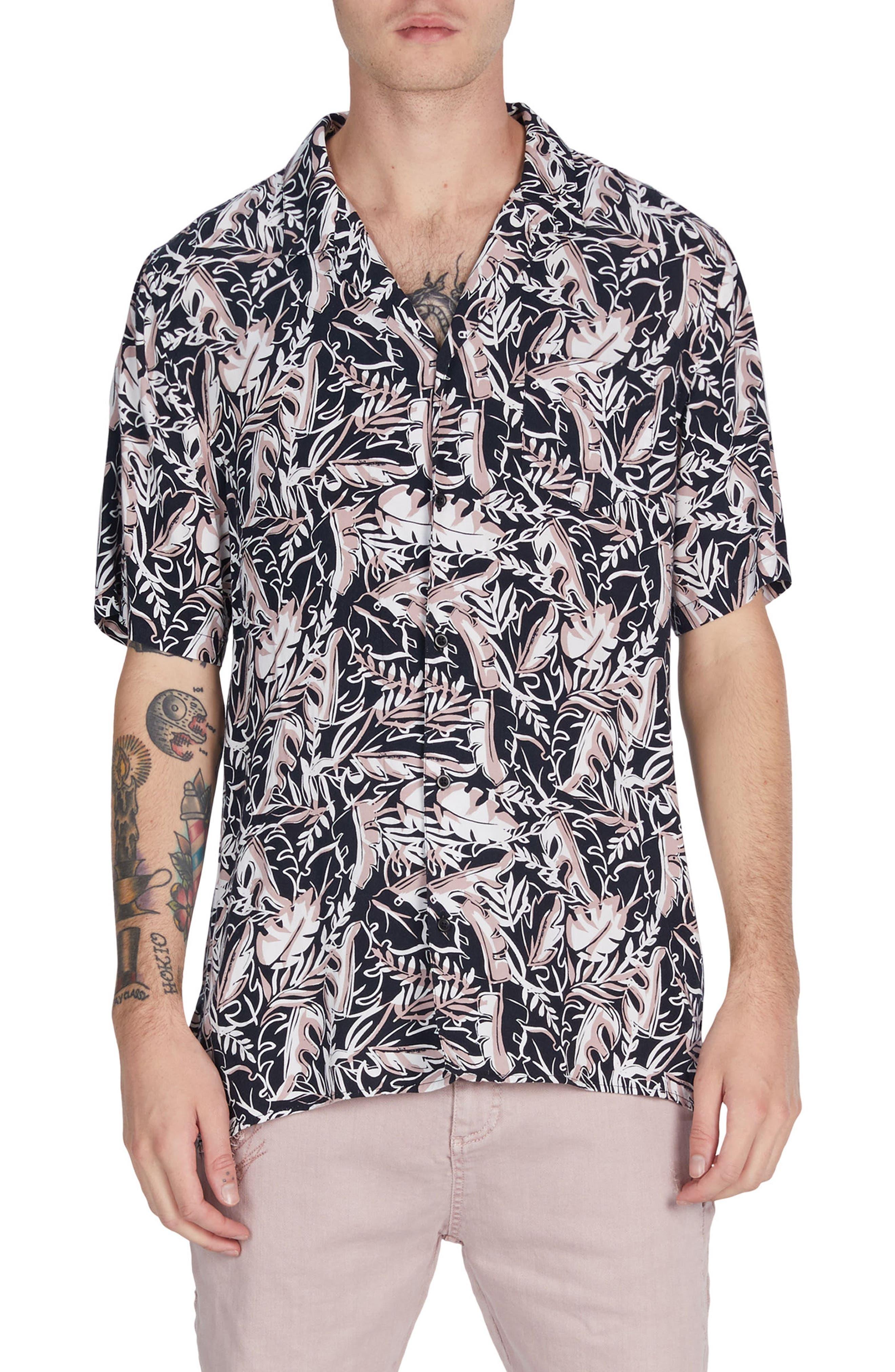 ZANEROBE Fern Box Shirt, Main, color, 001