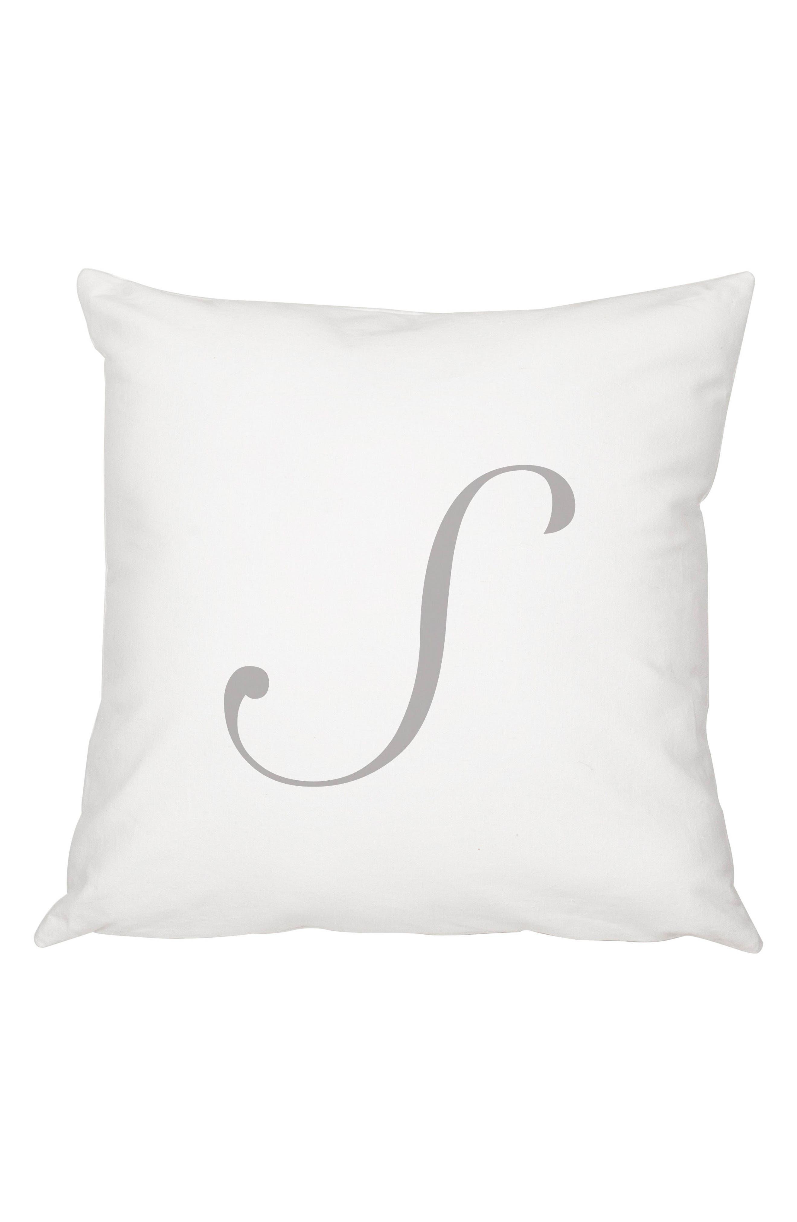 Script Monogram Accent Pillow,                             Main thumbnail 19, color,