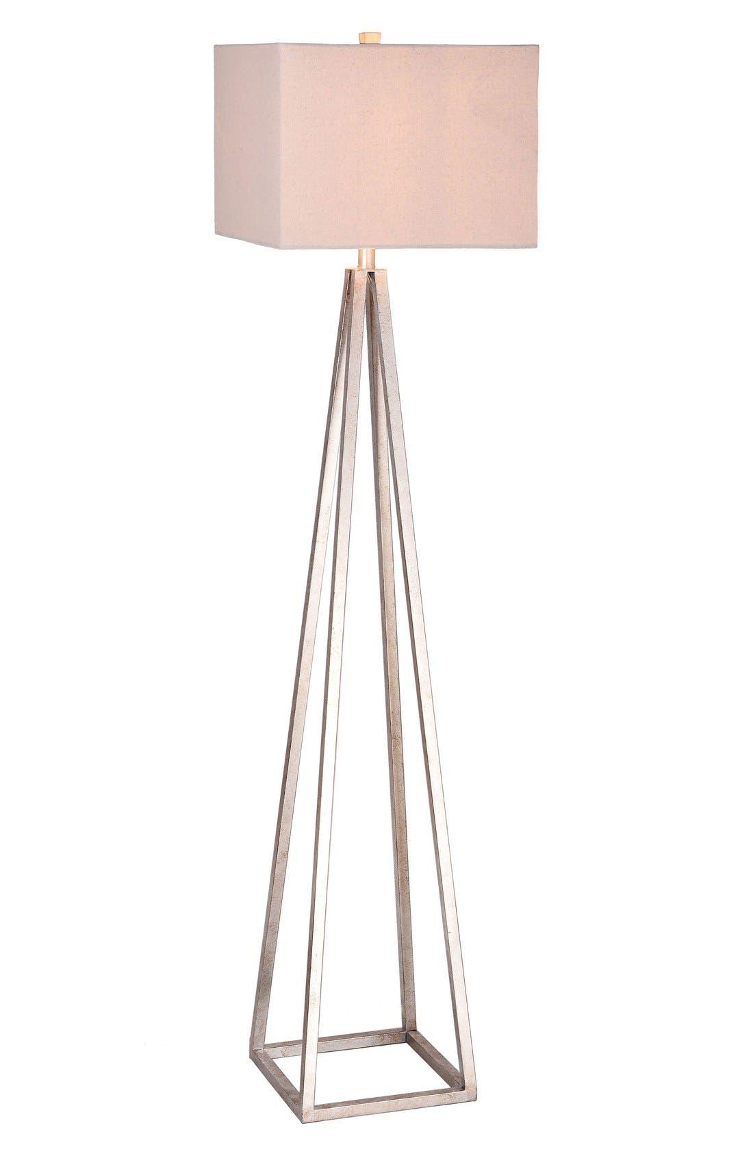 JAlexander Carrie Open Caged Metal Floor Lamp,                             Main thumbnail 1, color,                             040