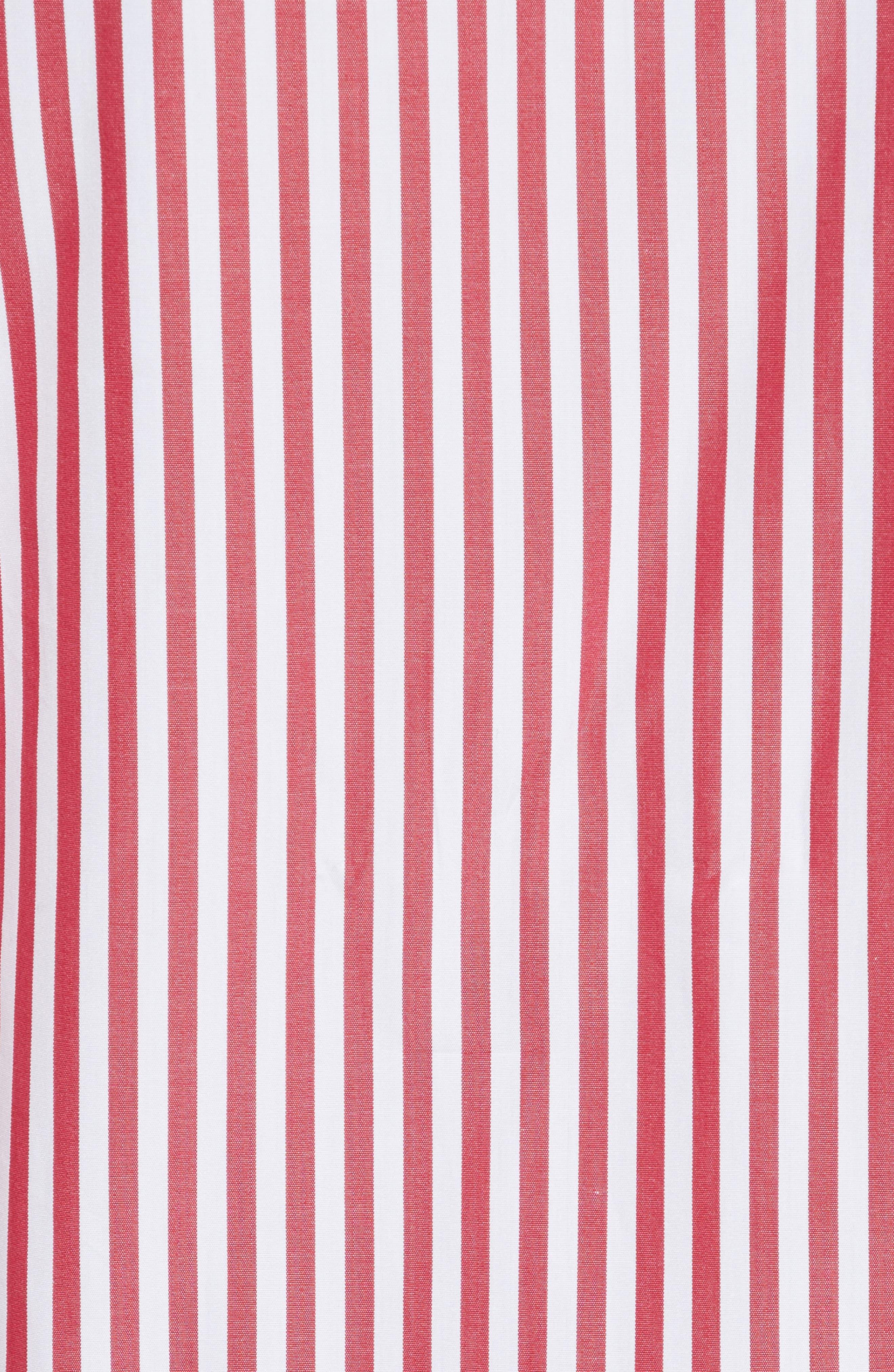 Amos Stripe Top,                             Alternate thumbnail 5, color,                             600