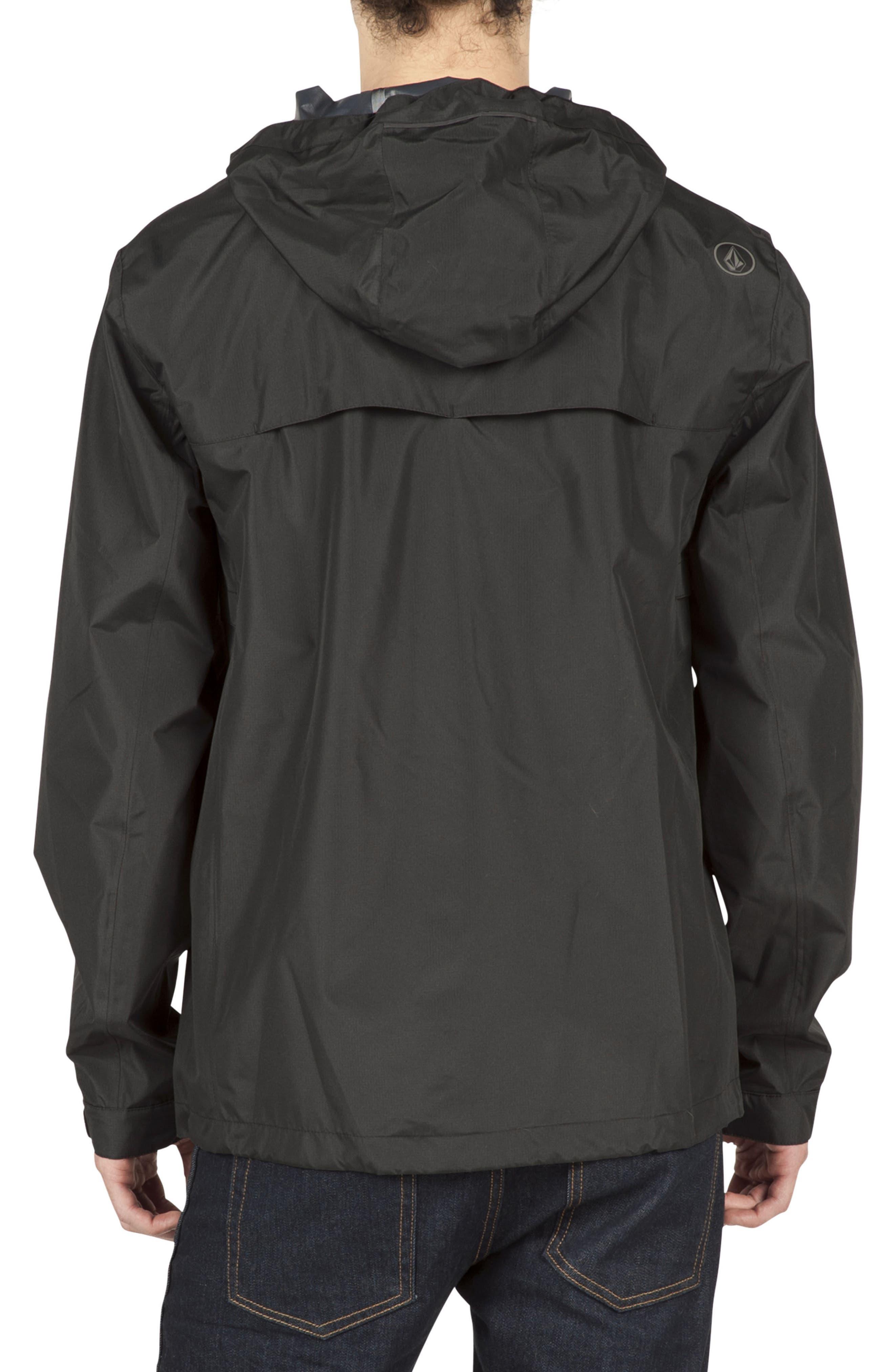 Water Resistant Zip Jacket,                             Alternate thumbnail 2, color,                             001