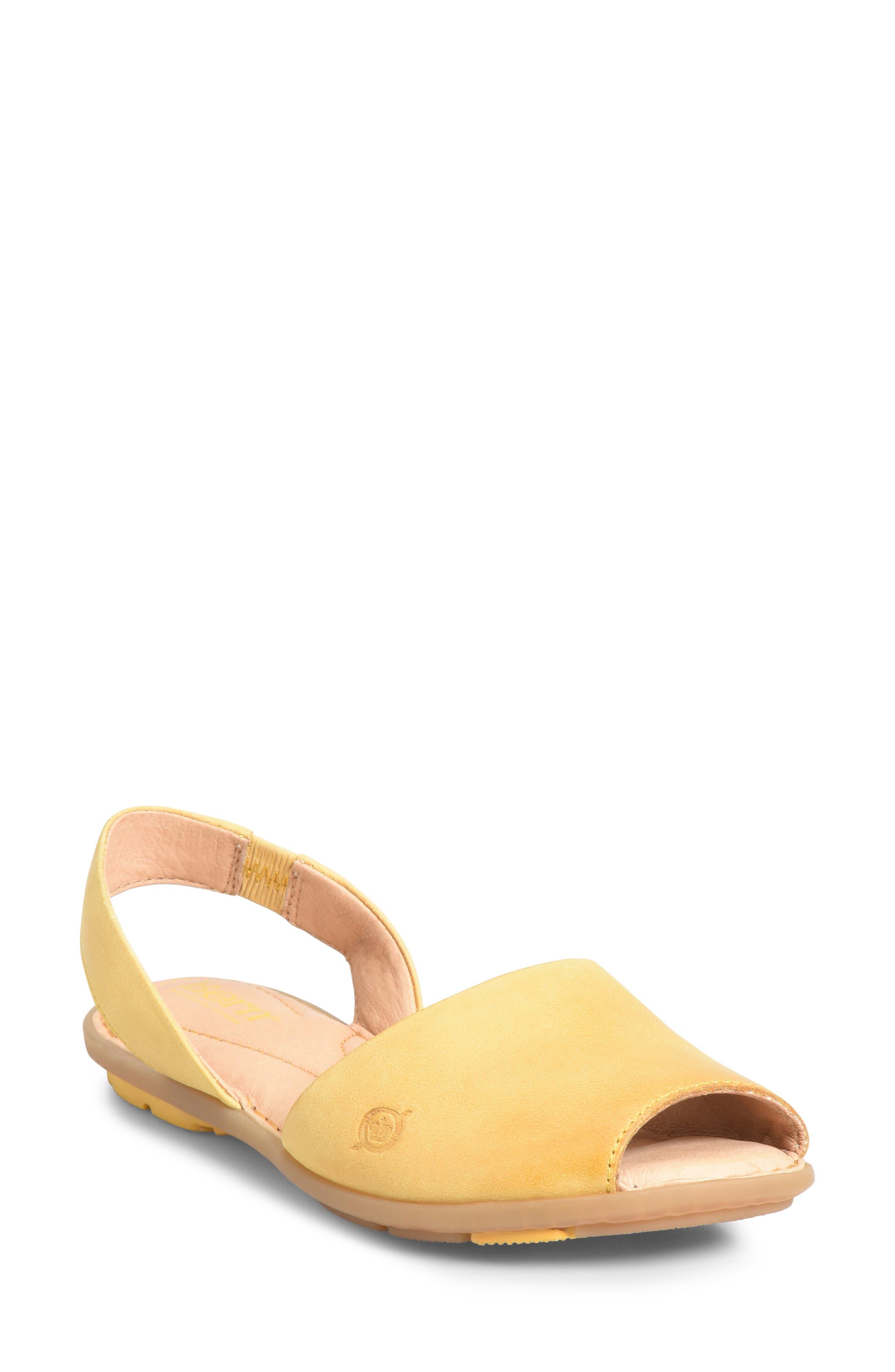B?rn Trang Sandal, Yellow