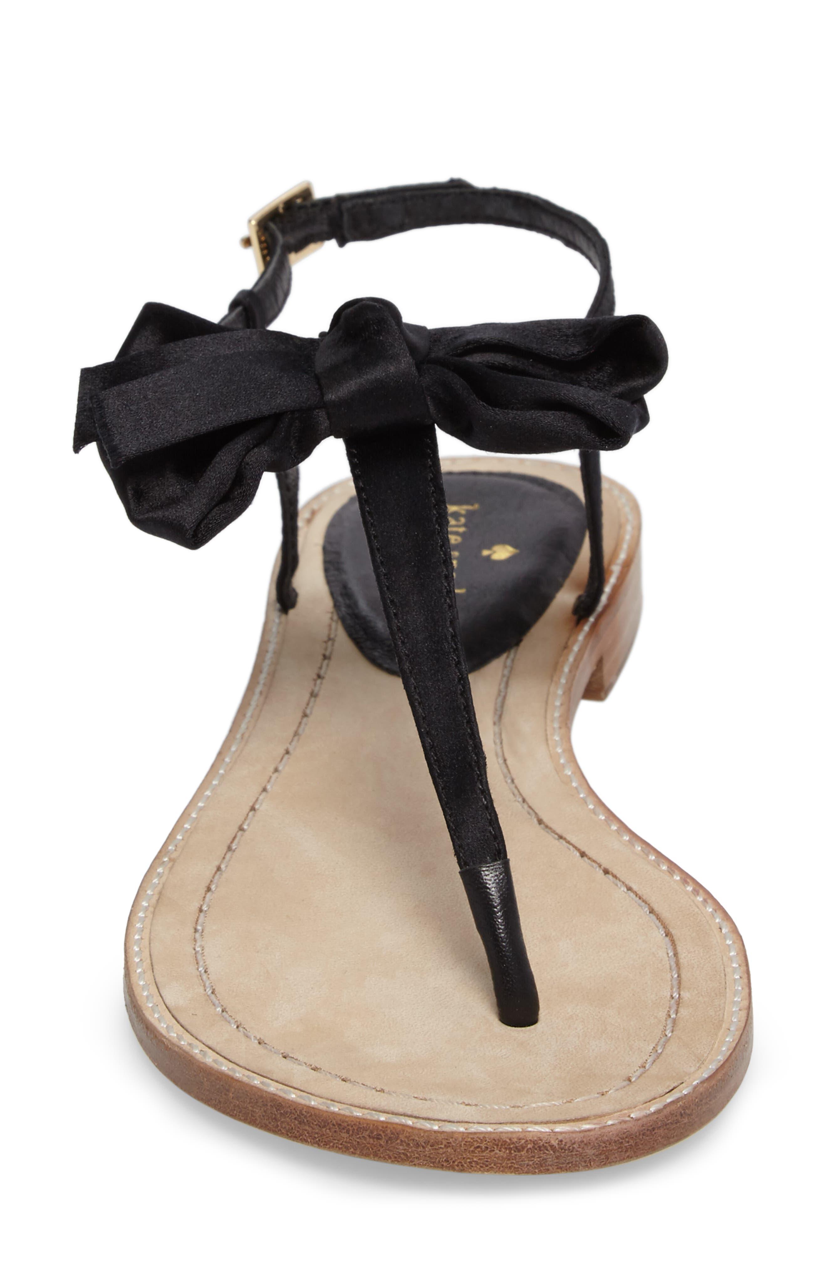 serrano bow sandal,                             Alternate thumbnail 13, color,