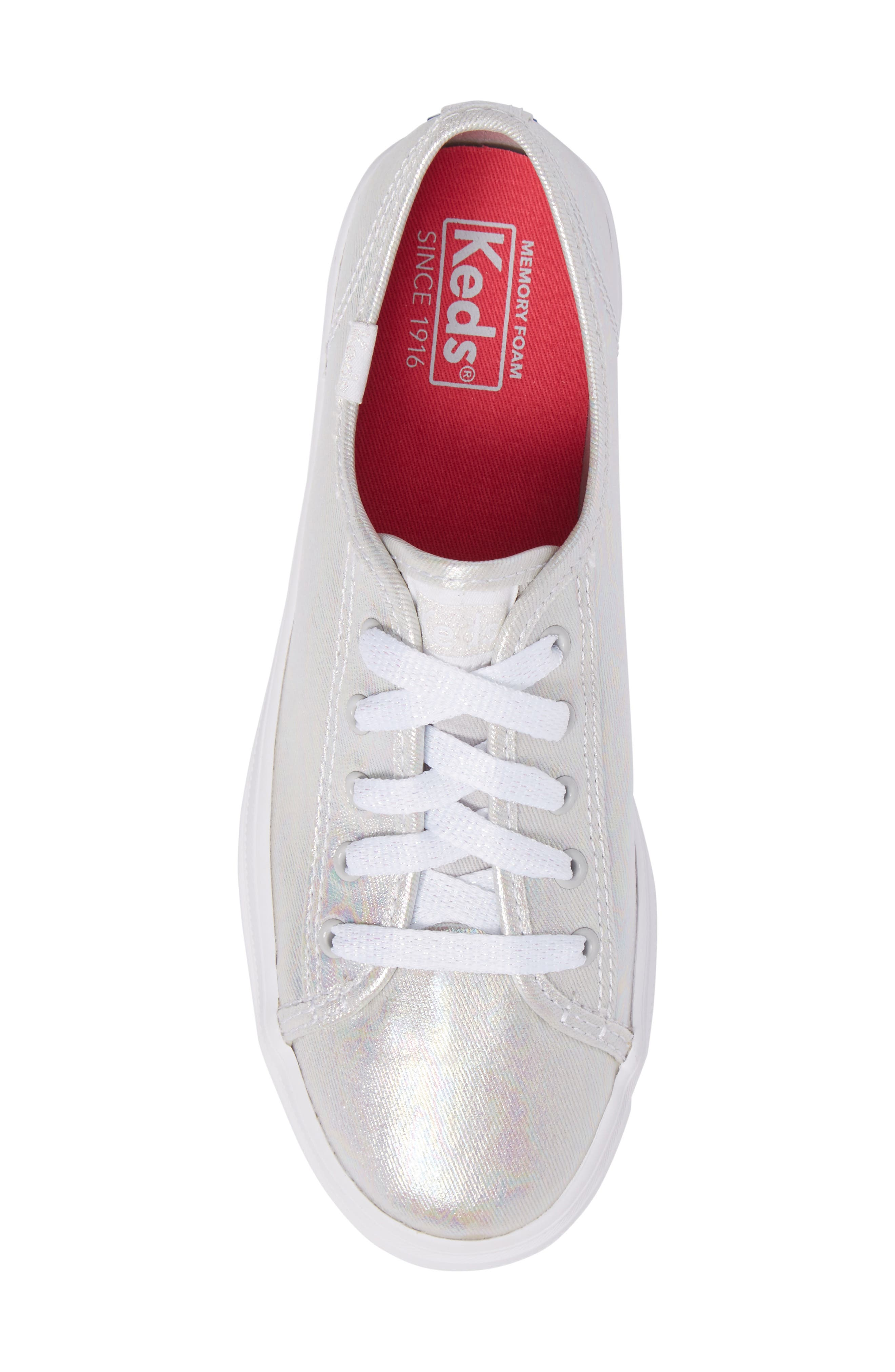 Triple Kick Platform Sneaker,                             Alternate thumbnail 5, color,                             020