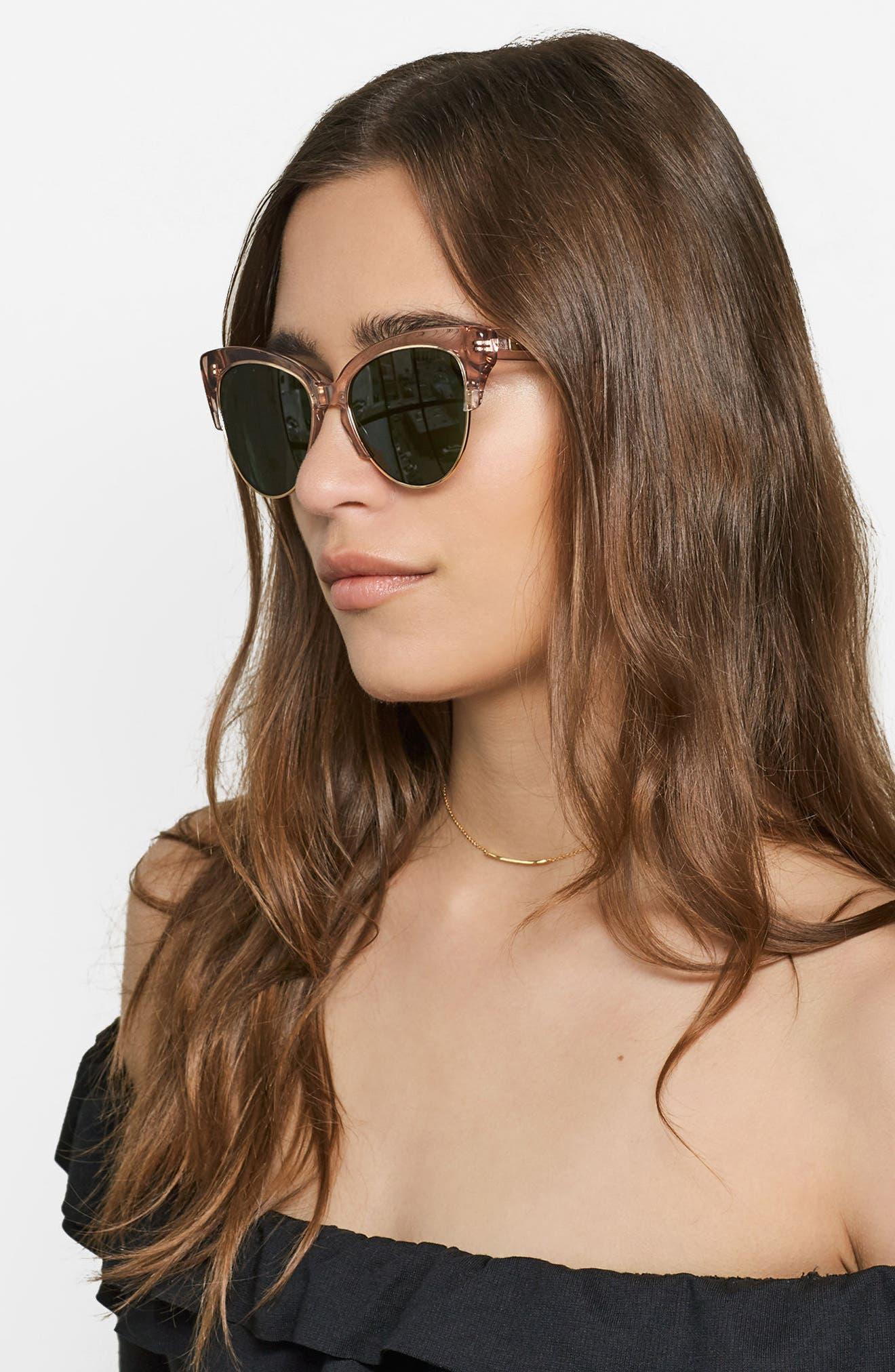 Dafni 56mm Gradient Cat Eye Sunglasses,                             Alternate thumbnail 15, color,