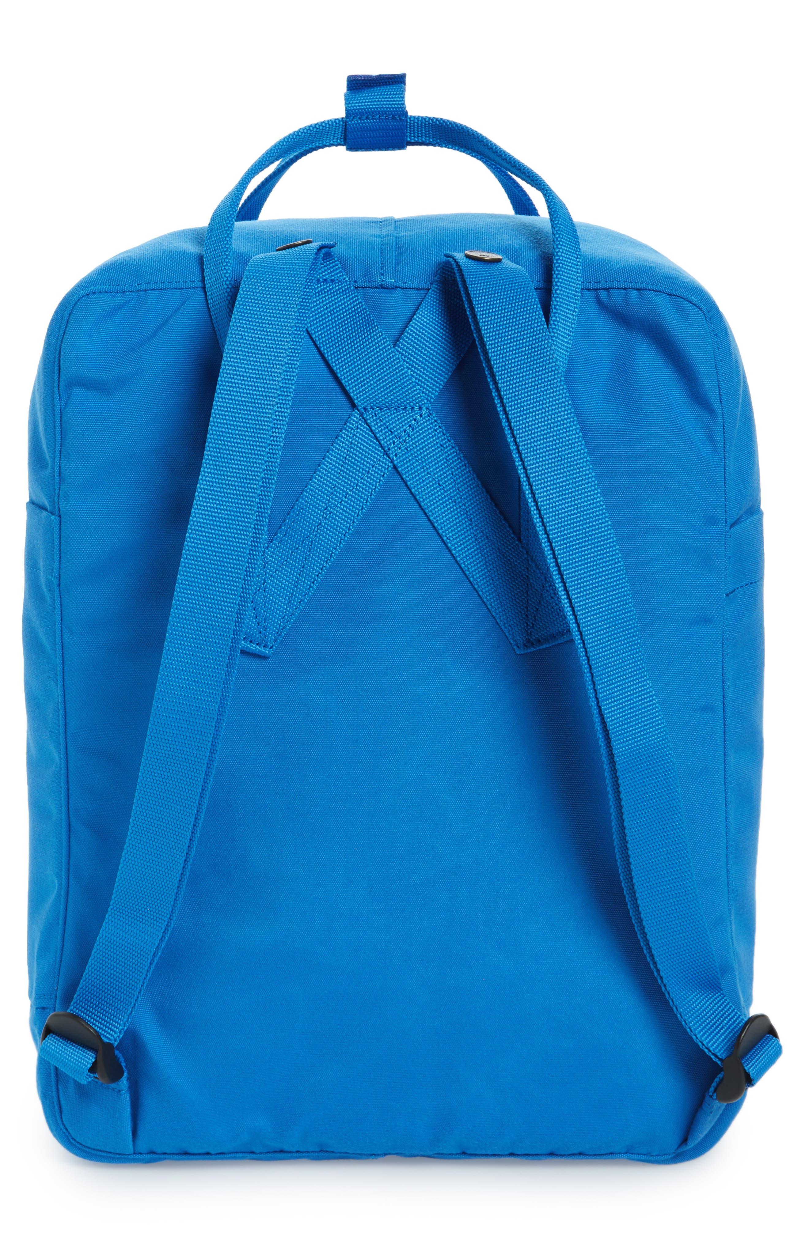 Re-Kånken Water Resistant Backpack,                             Alternate thumbnail 3, color,                             UN BLUE