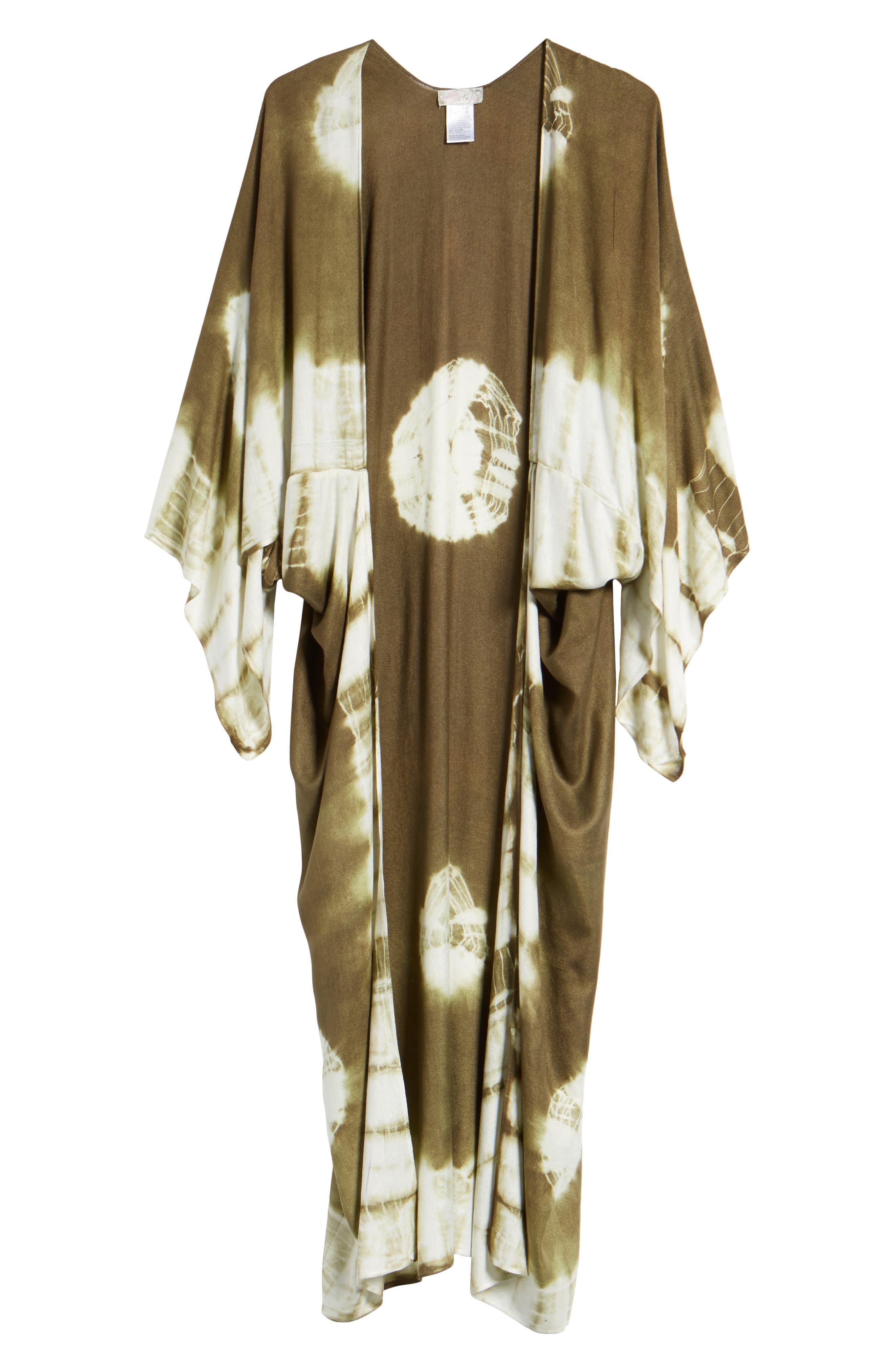 Spellbound Tie Dye Kimono Duster,                             Alternate thumbnail 17, color,