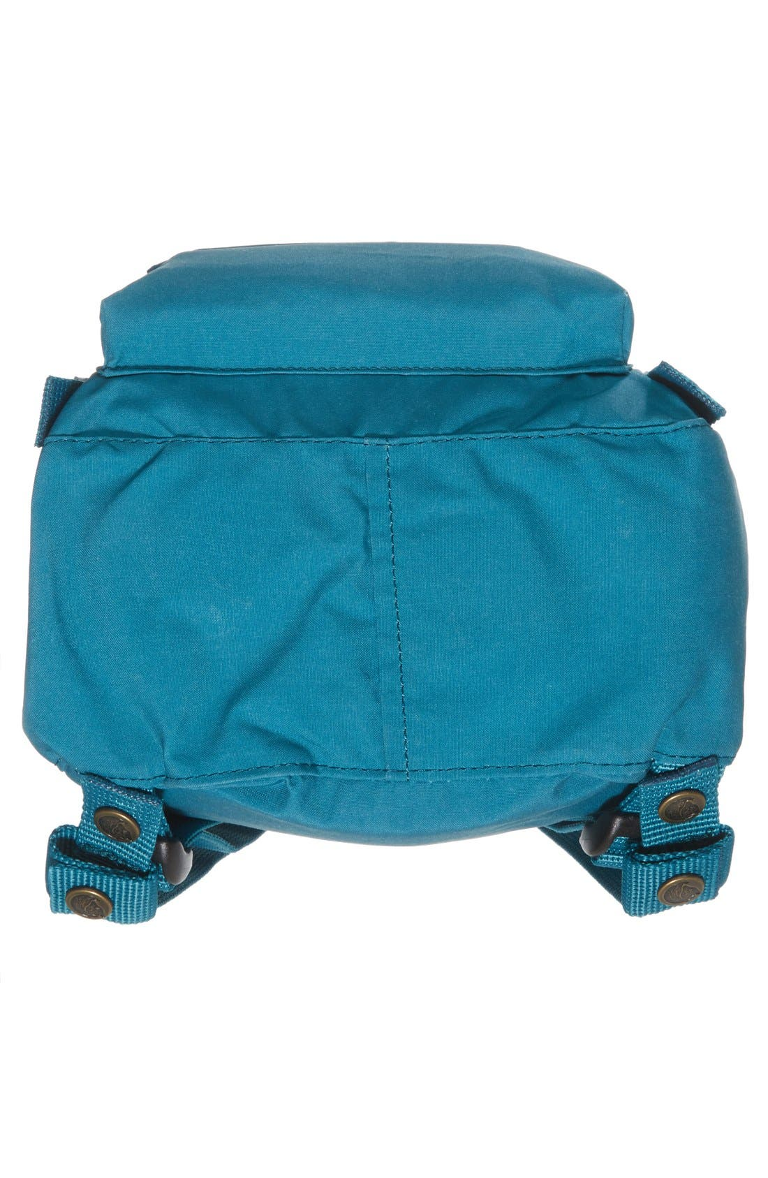 'Mini Kånken' Water Resistant Backpack,                             Alternate thumbnail 5, color,                             OCEAN GREEN