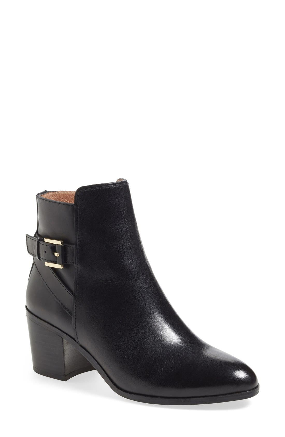 'Zalia' Ankle Bootie,                             Main thumbnail 1, color,                             001