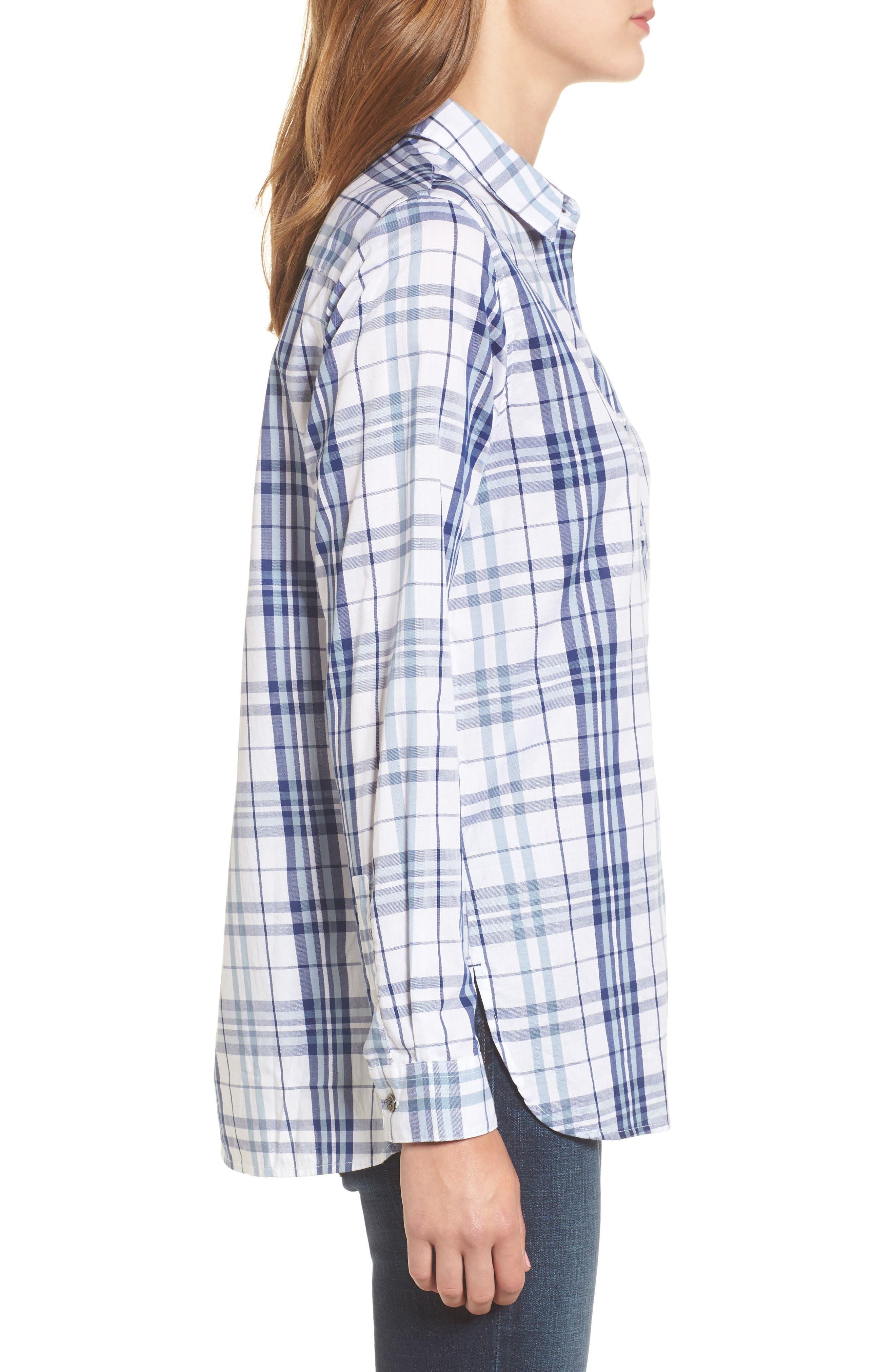 Selsey Plaid Shirt,                             Alternate thumbnail 3, color,