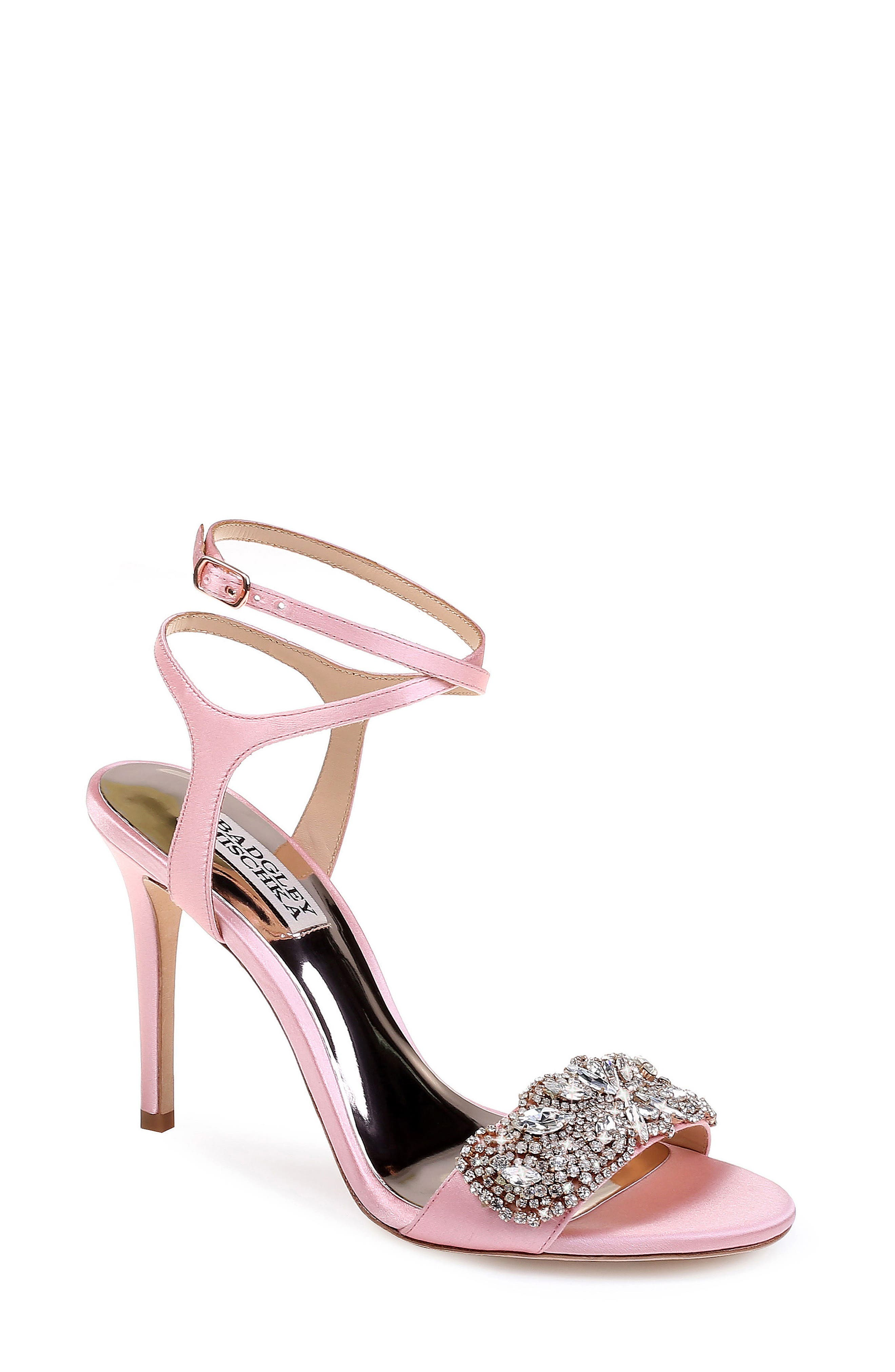 Hailey Embellished Ankle Strap Sandal,                             Main thumbnail 5, color,