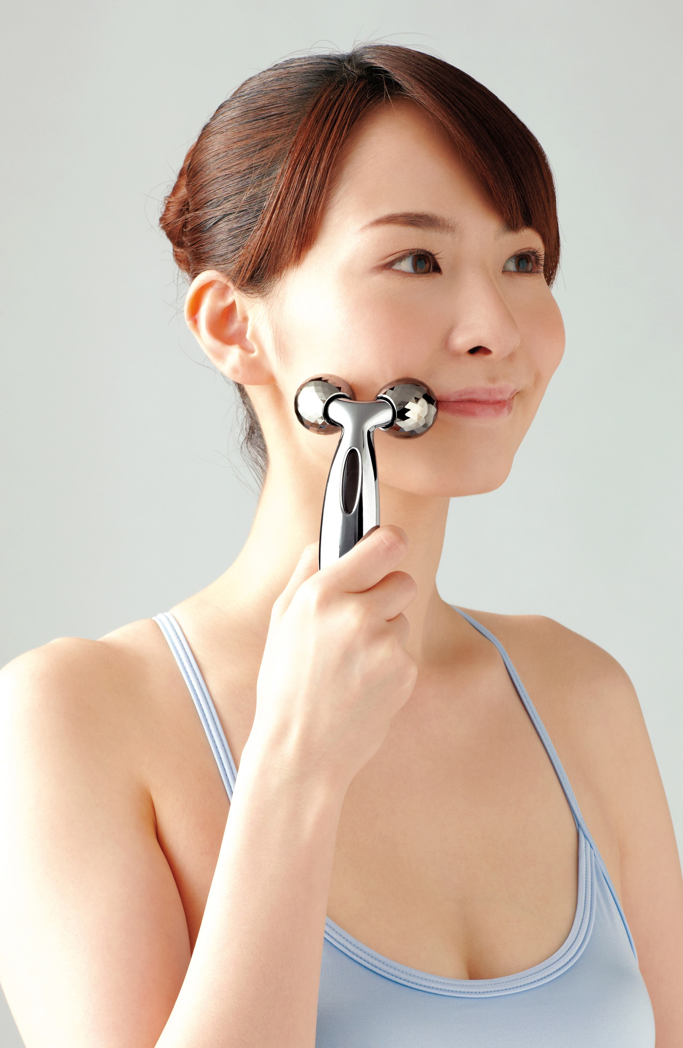 Carat Face Beauty Roller Tool,                             Alternate thumbnail 3, color,                             NO COLOR