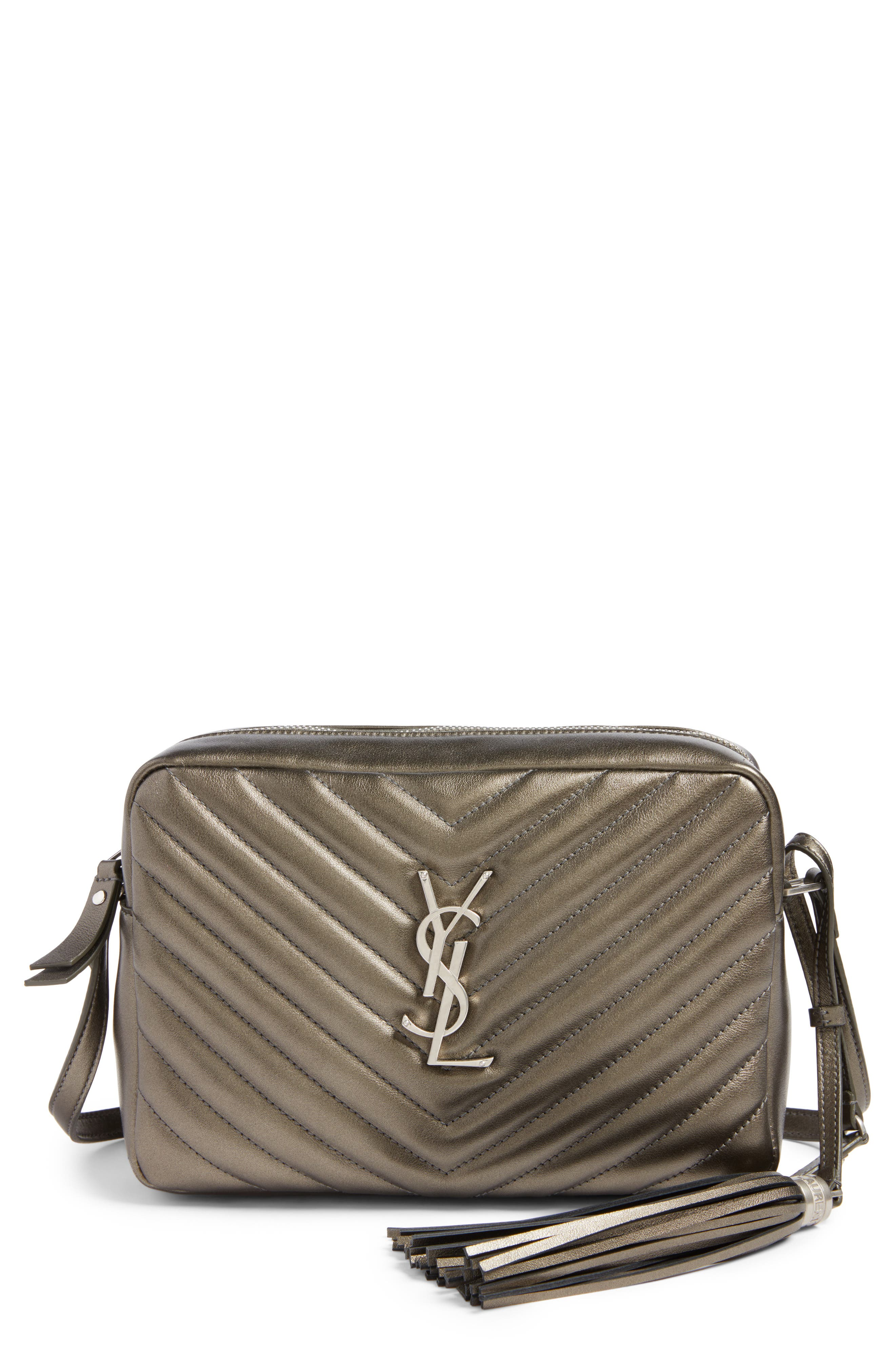 Medium Lou Calfskin Leather Camera Bag,                             Main thumbnail 1, color,                             020