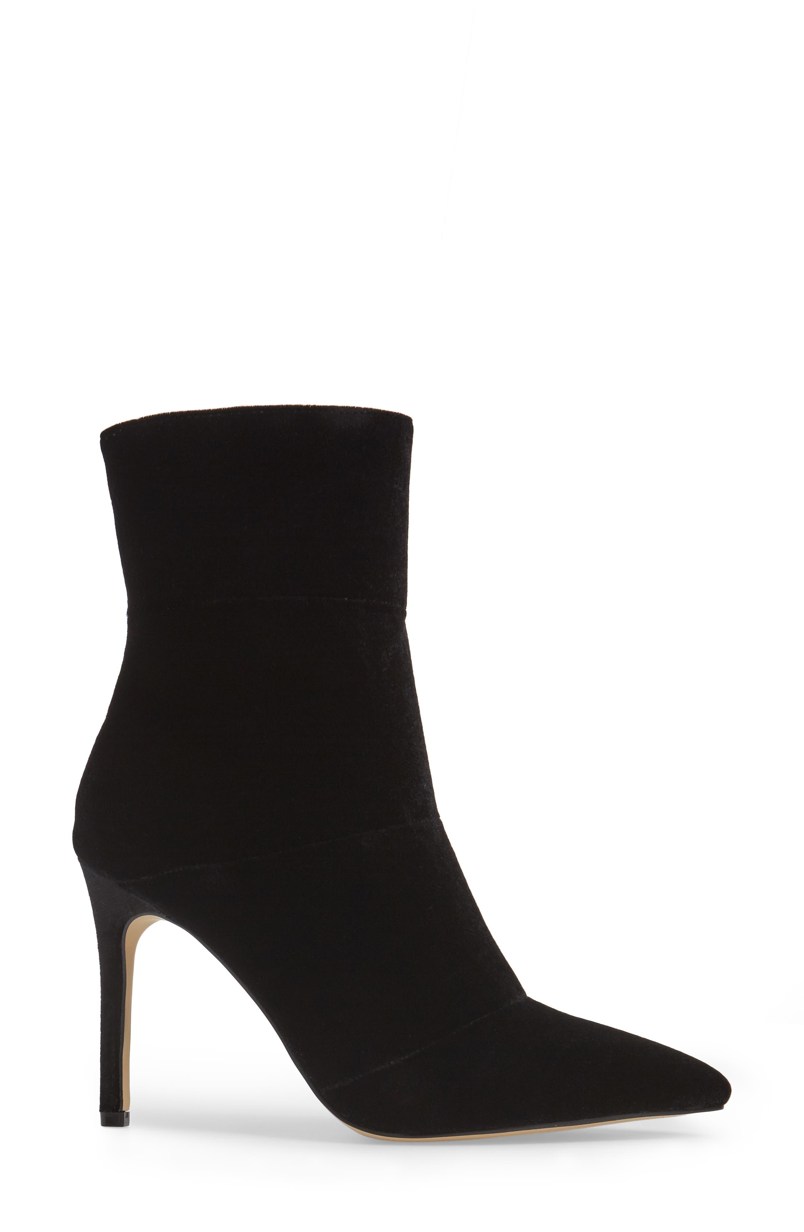 by Zendaya Nicolette Pointy Toe Bootie,                             Alternate thumbnail 3, color,                             006