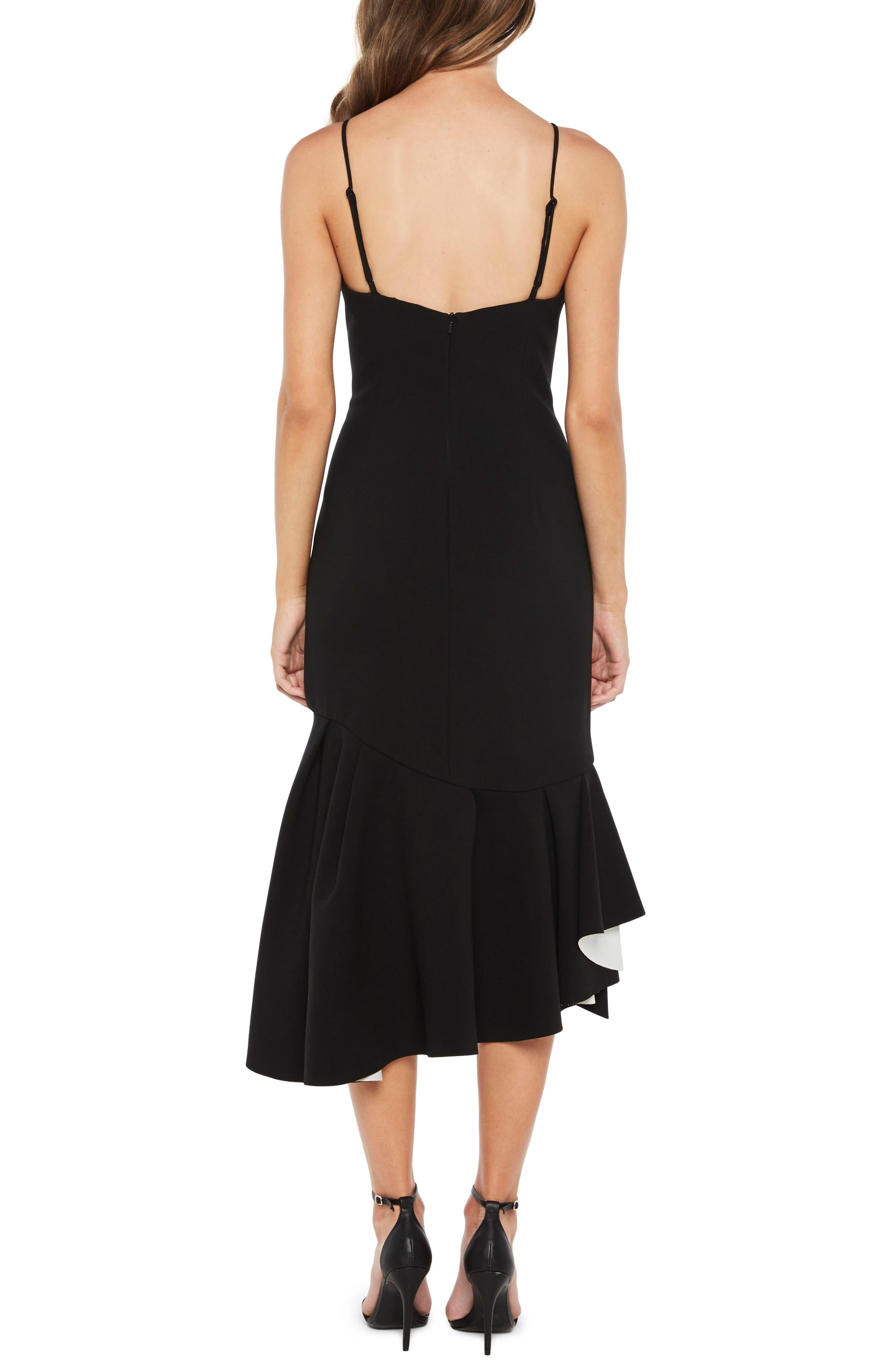Kiki Scuba Dress,                             Alternate thumbnail 2, color,                             001