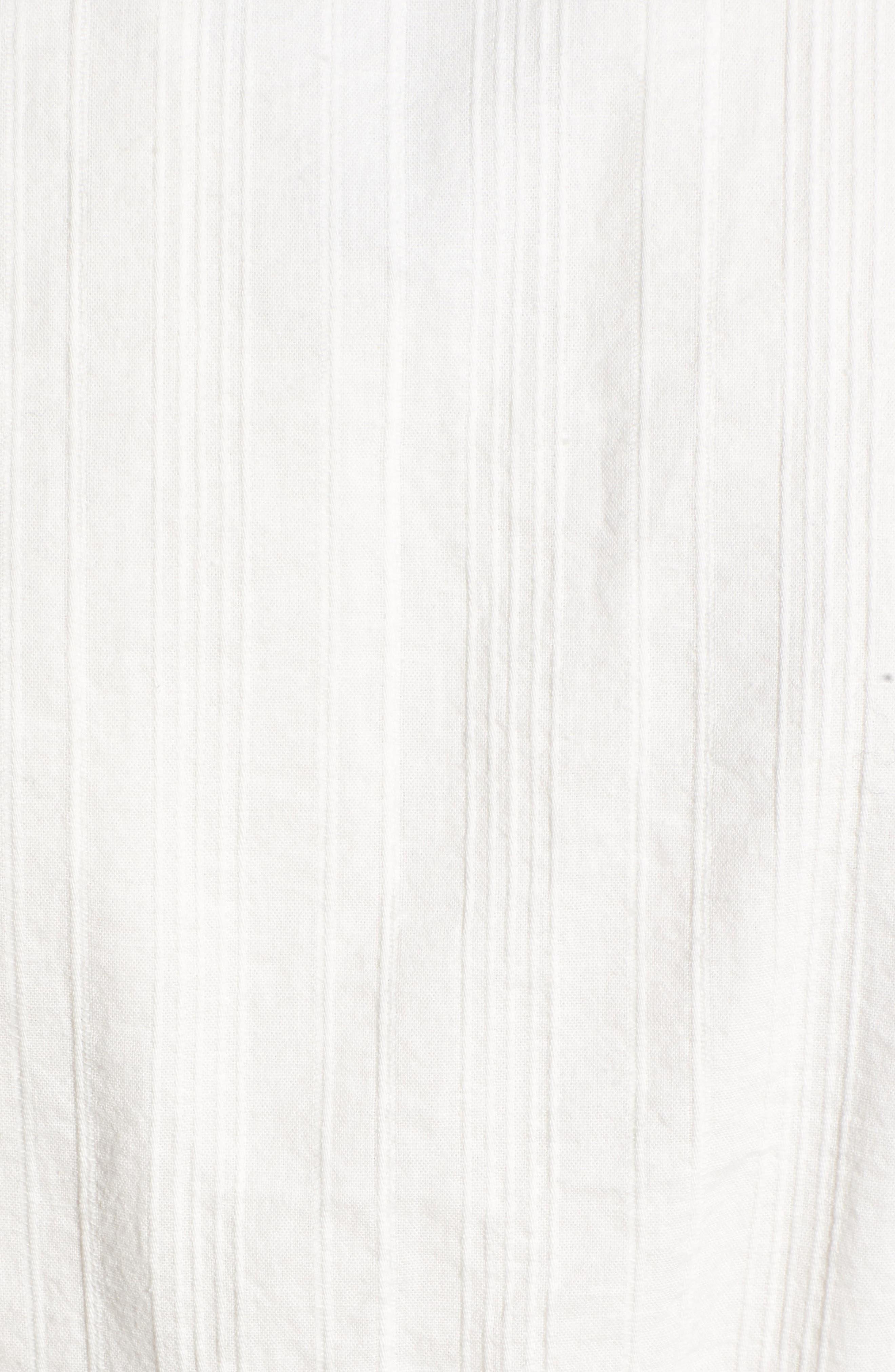 Irina Blouse,                             Alternate thumbnail 6, color,                             WHITE