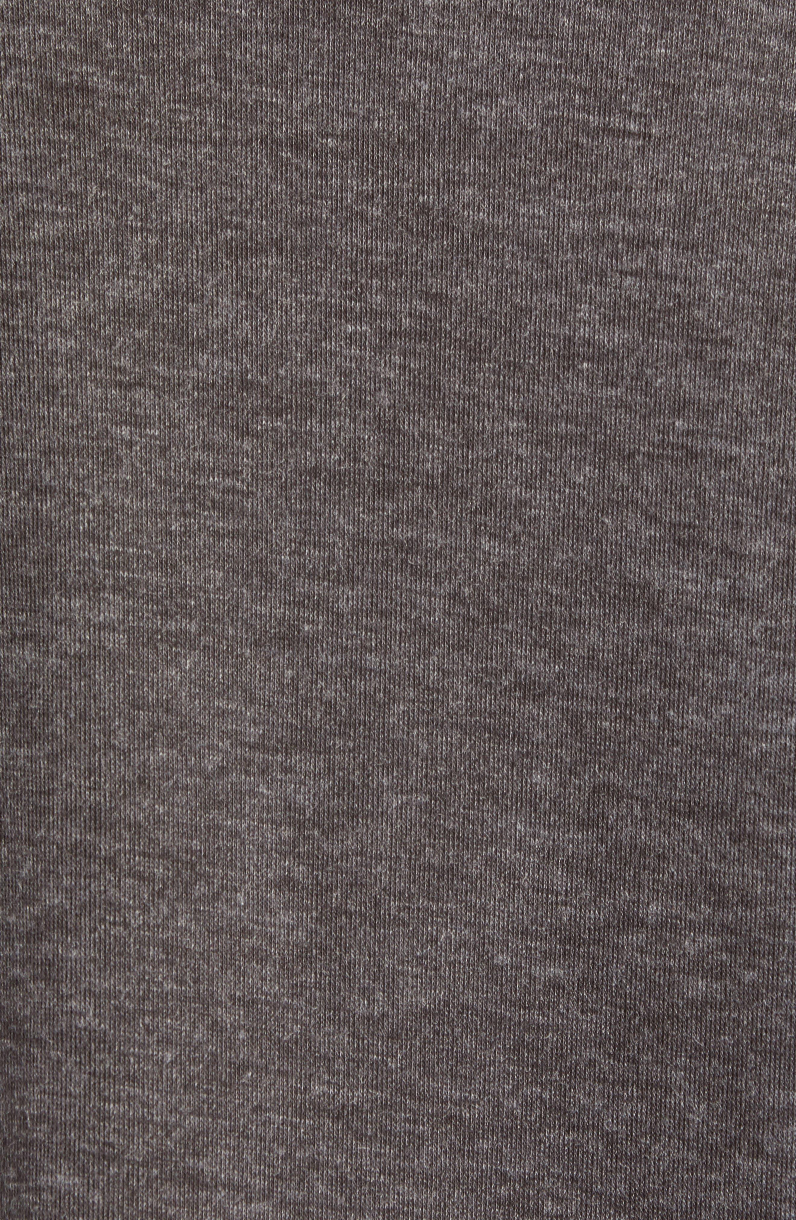 Prospect V-Neck Performance Sweater,                             Alternate thumbnail 5, color,                             CHARCOAL