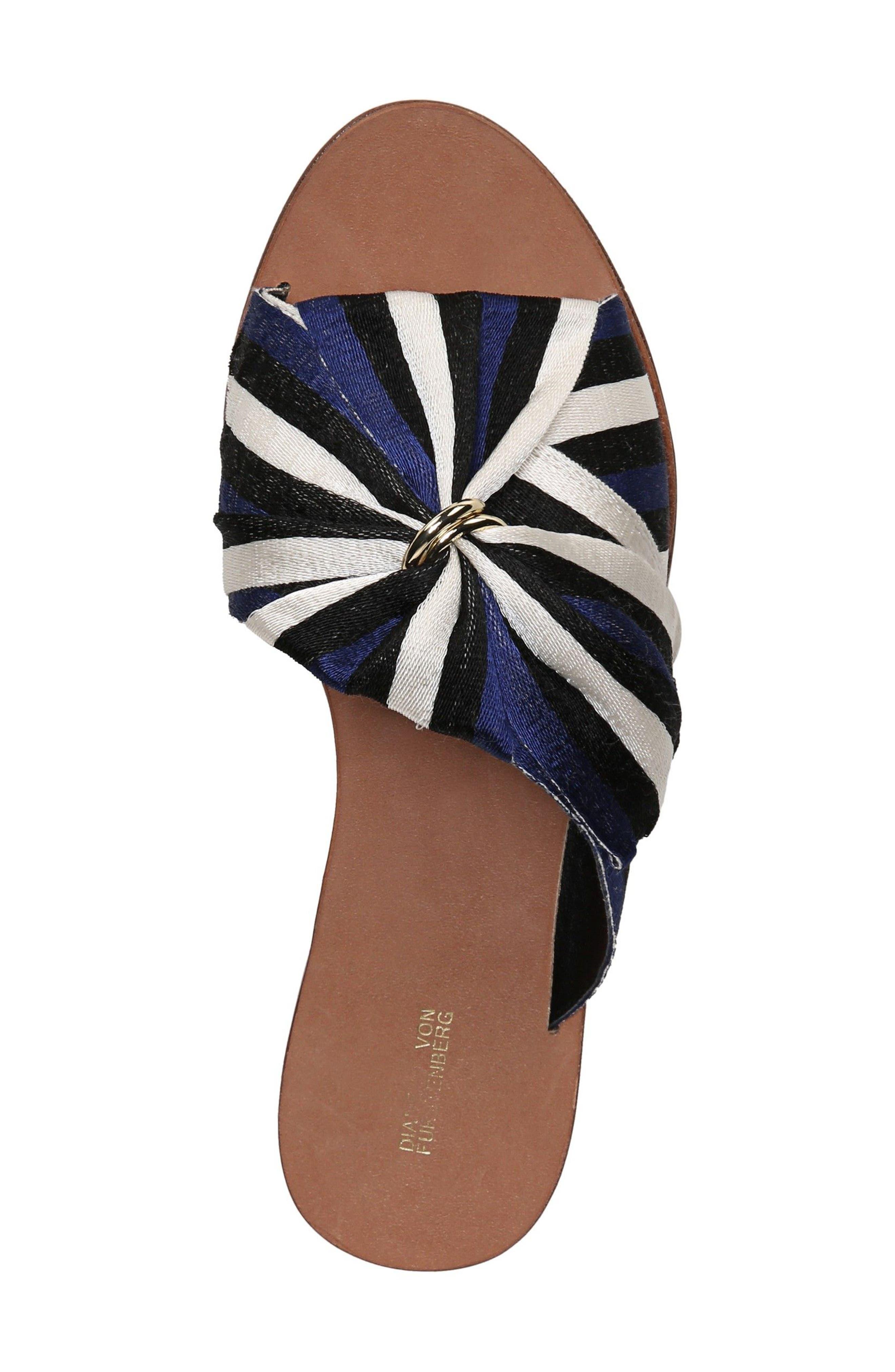 Bella Asymmetrical Slide Sandal,                             Alternate thumbnail 5, color,                             400