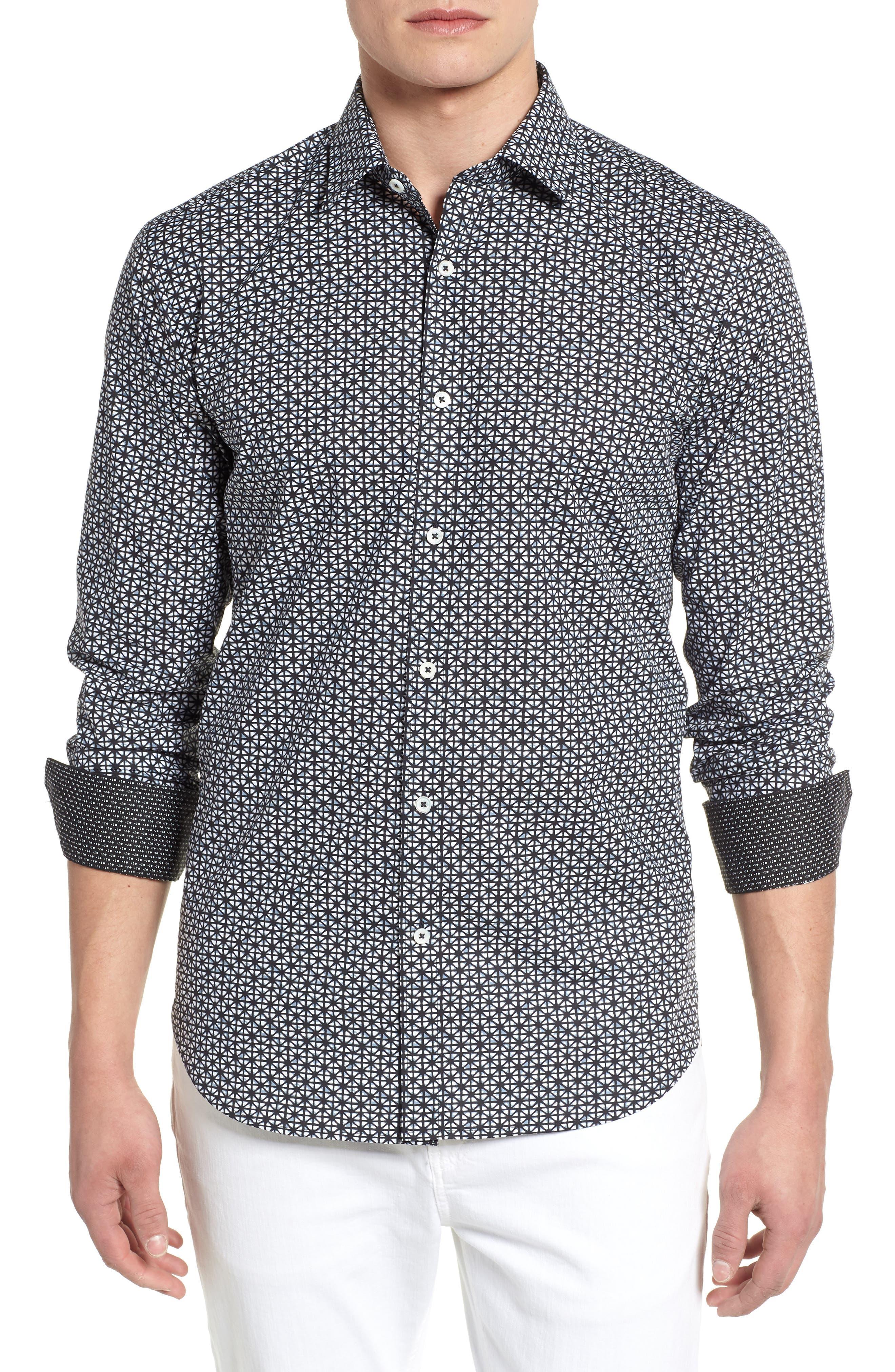Woven Sport Shirt,                         Main,                         color, 001