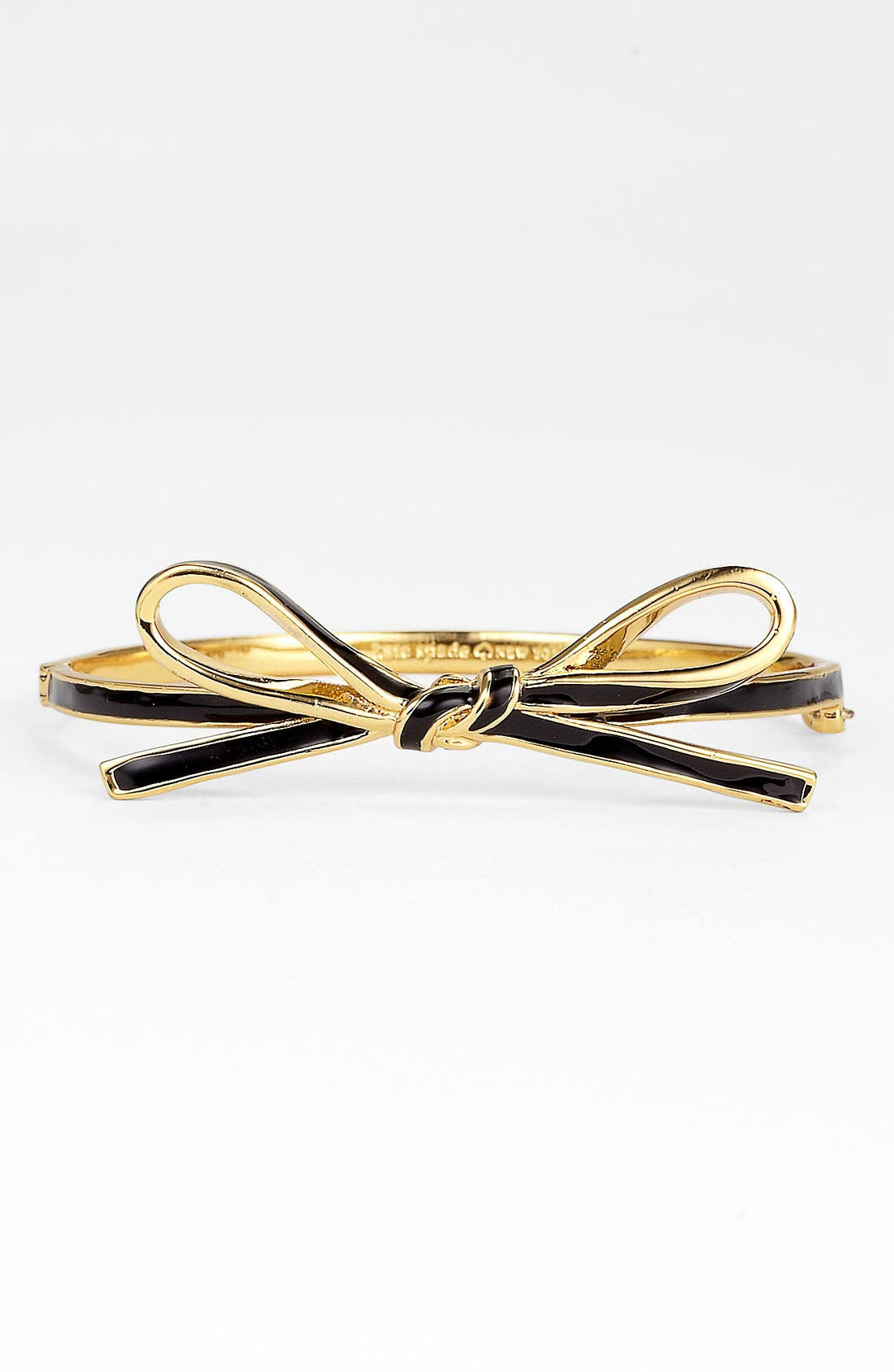 'skinny mini' bow bangle,                         Main,                         color, 001