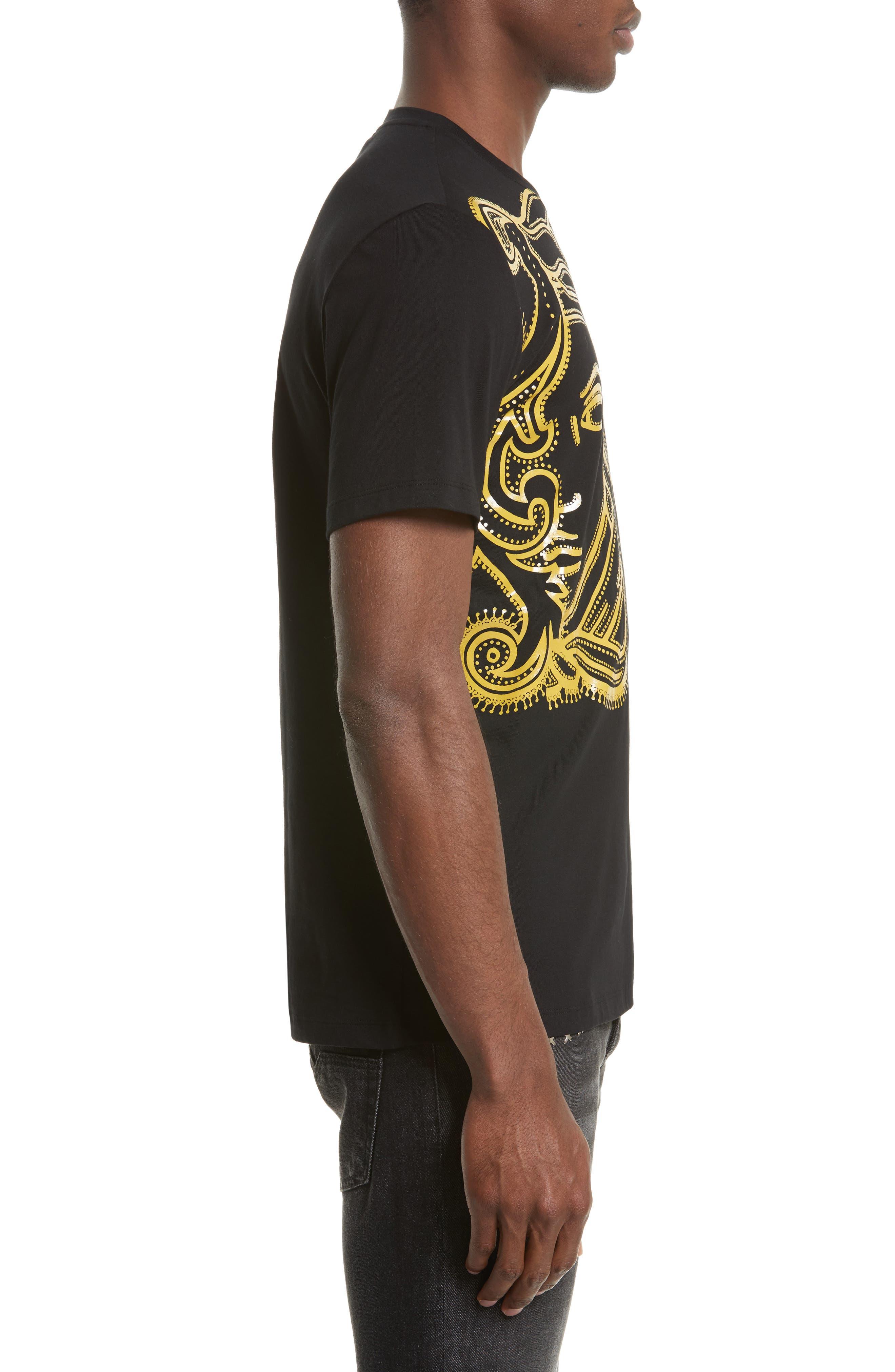 Medusa Graphic T-Shirt,                             Alternate thumbnail 3, color,                             001