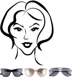 fd9e7831463 Women s Sunglasses  Styles